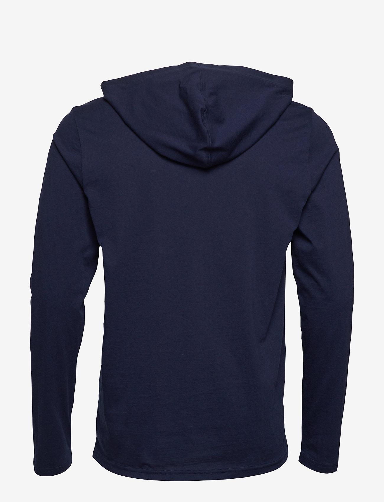 Polo Ralph Lauren Underwear - Cotton-Blend Sleep Hoodie - hoodies - cruise navy - 1