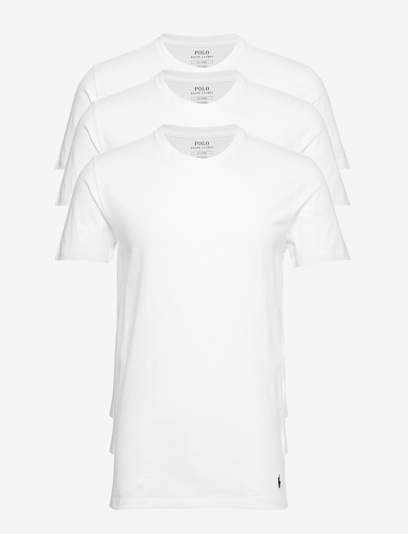 Polo Ralph Lauren Underwear - Cotton Crewneck 3-Pack - multipack - 3pk white/white/w - 0