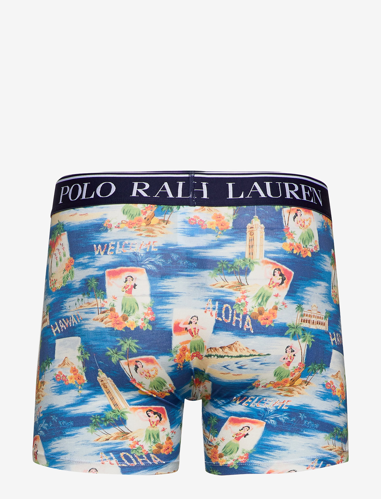 Polo Ralph Lauren Underwear Stretch Cotton Boxer Brief - Boxershorts Aloha Print