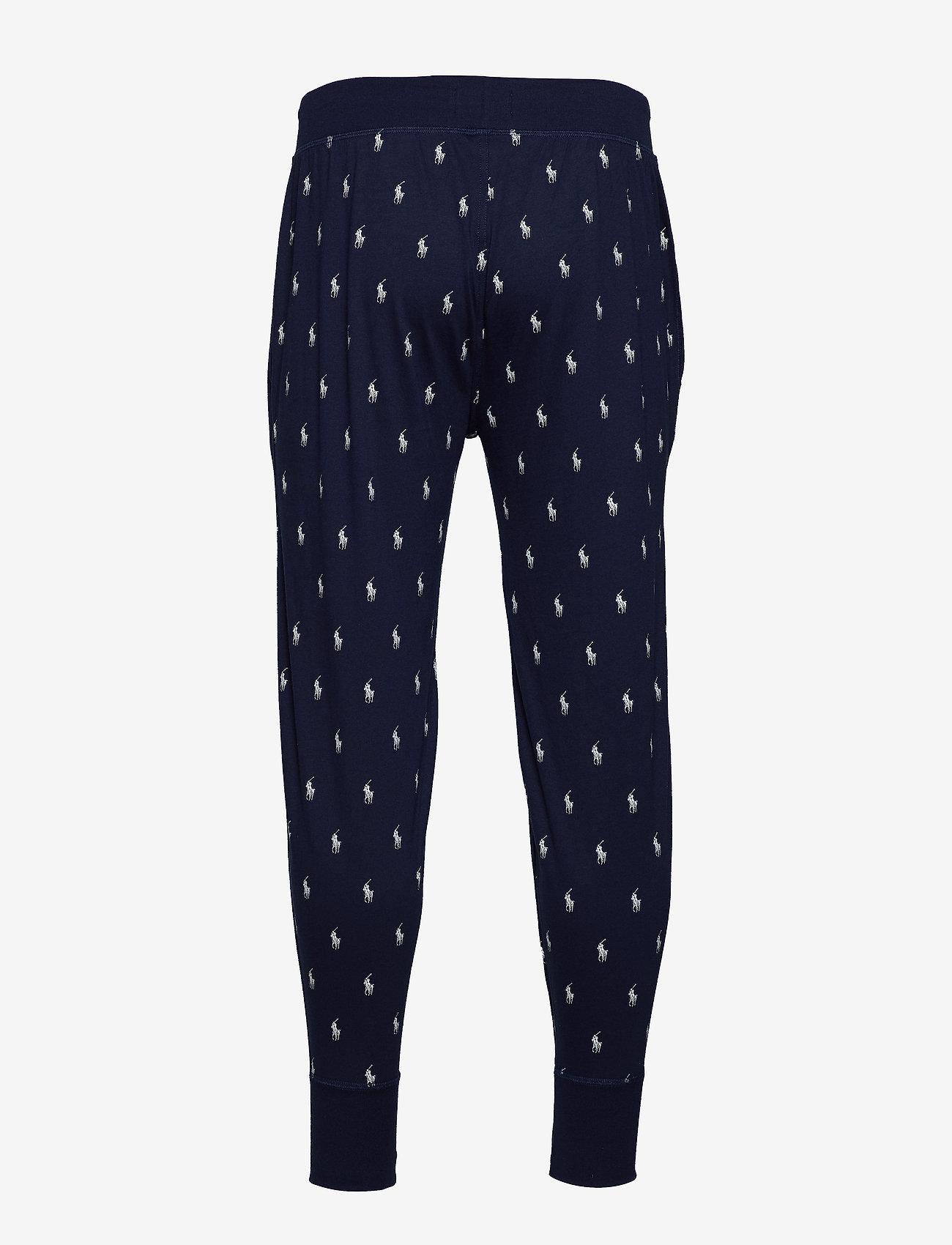 Polo Ralph Lauren Underwear - Allover Pony Cotton Jogger - pyjamas - cruise navy aopp - 1