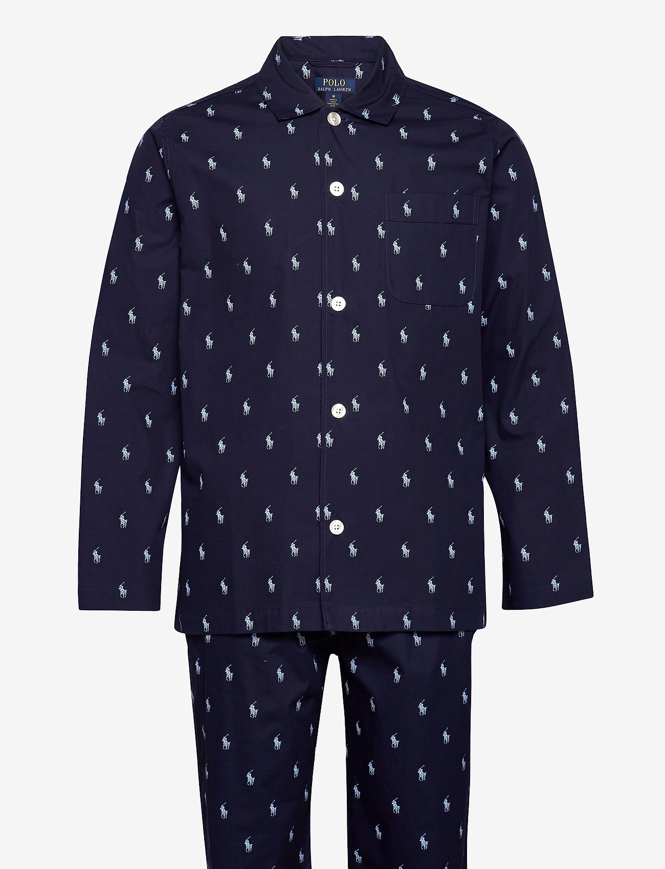 Polo Ralph Lauren Underwear - Cotton Sleep Set - pyjama's - cruise navy / blu - 0