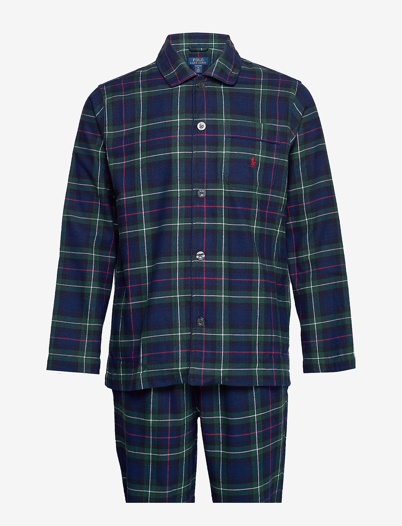 Polo Ralph Lauren Underwear - L/S PJ SET-SLEEP SET - pyjamat - kesington plaid