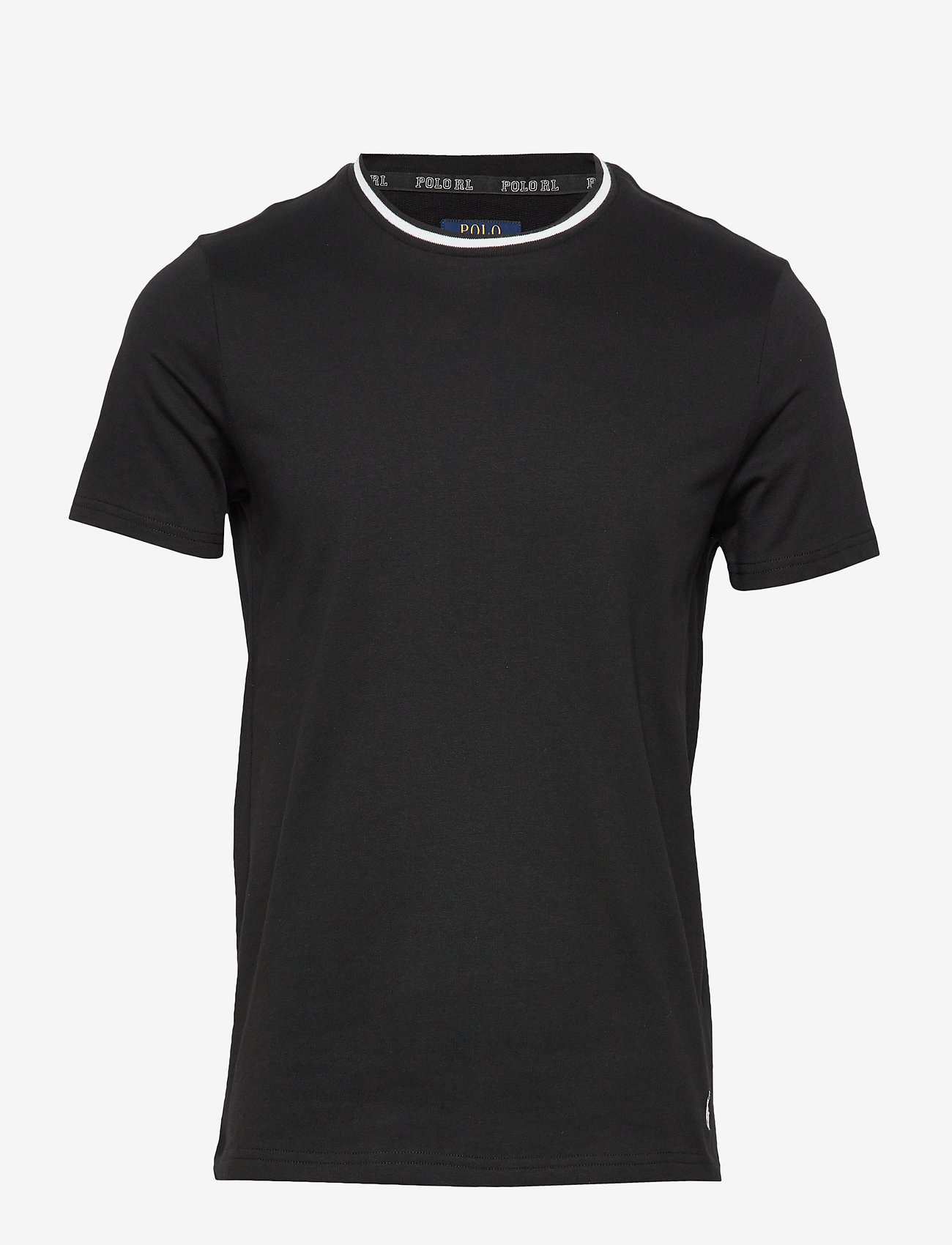 Polo Ralph Lauren Underwear - LOOP BACK JERSEY-CRW-STP - basic t-shirts - polo black - 0