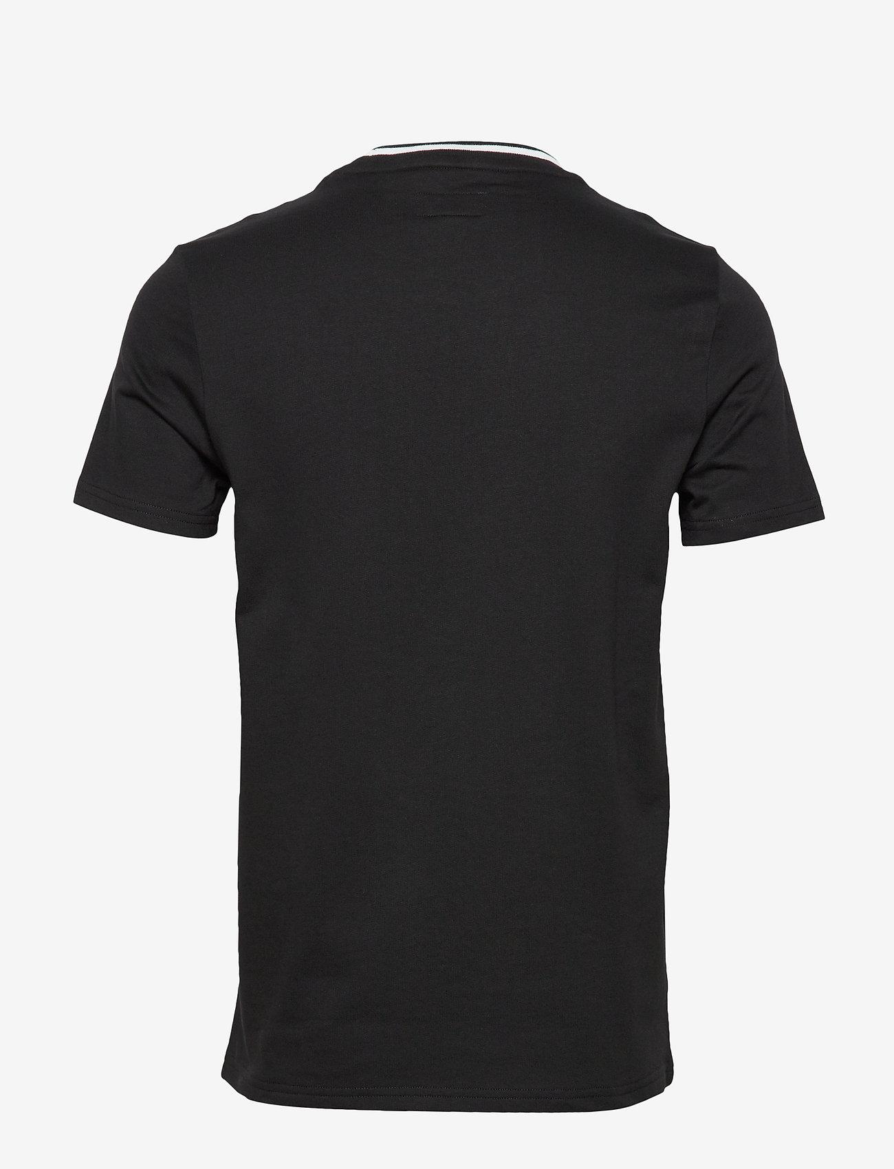 Polo Ralph Lauren Underwear - LOOP BACK JERSEY-CRW-STP - basic t-shirts - polo black - 1