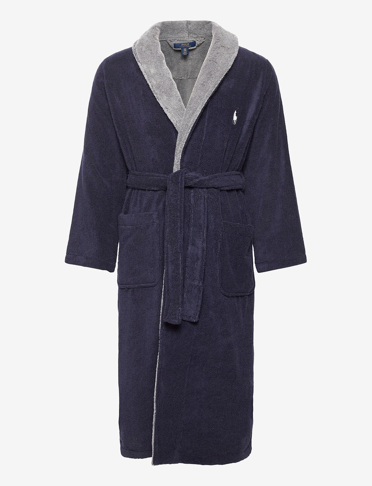 Polo Ralph Lauren Underwear - Big Pony Cotton Terry Robe - robes - cruise navy museu - 0