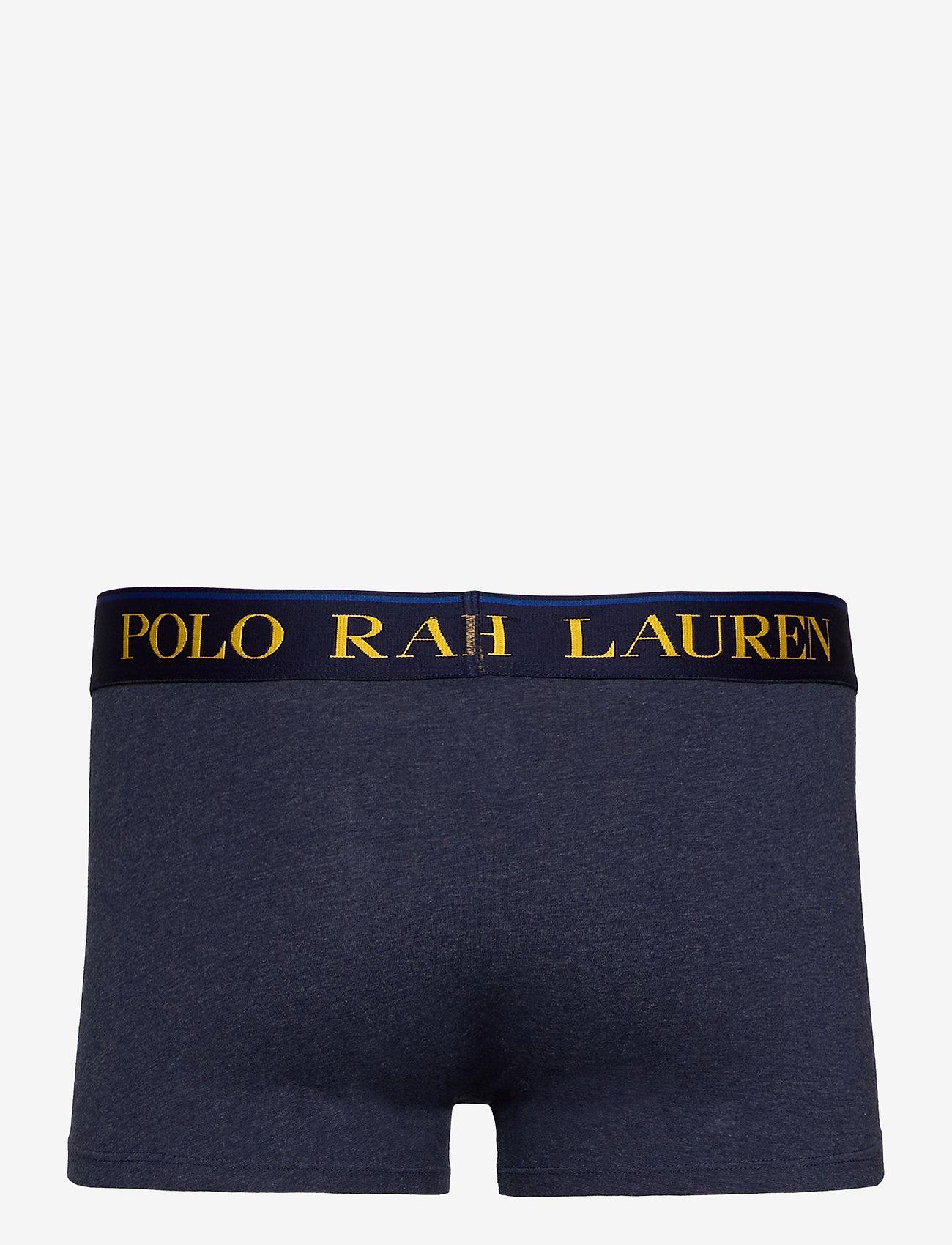 Polo Ralph Lauren Underwear - Stretch Cotton Trunk - boxers - monroe blue hthr - 1