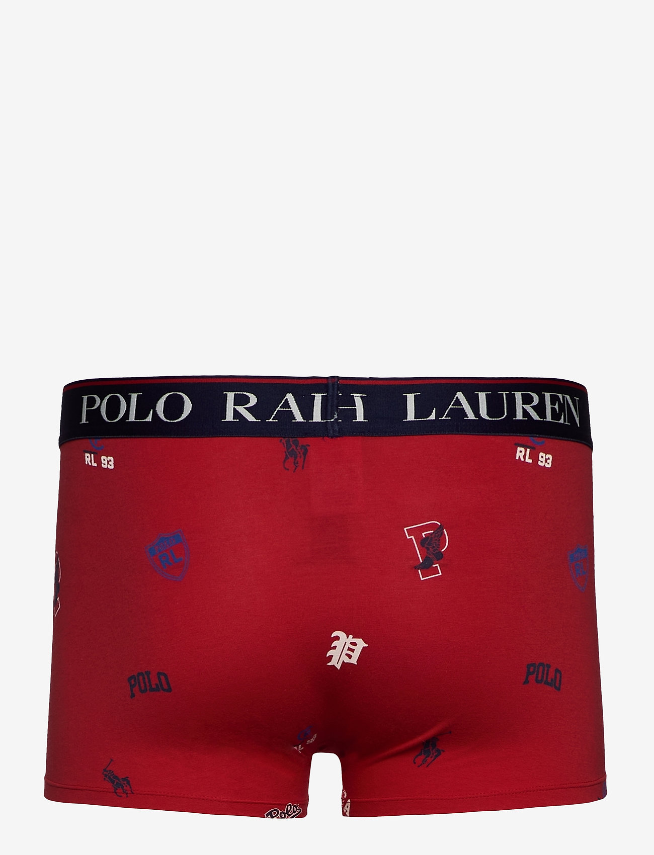 Polo Ralph Lauren Underwear - Stretch Cotton Trunk - boxers - red icons print - 1