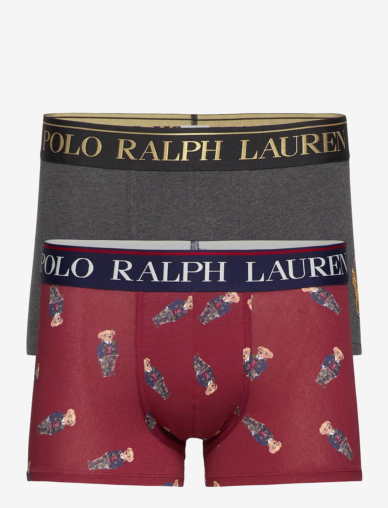 Polo Ralph Lauren Underwear - COTTON/ELASTANE-2PK-TRN - boxers - 2pk windsor hthr/ - 0