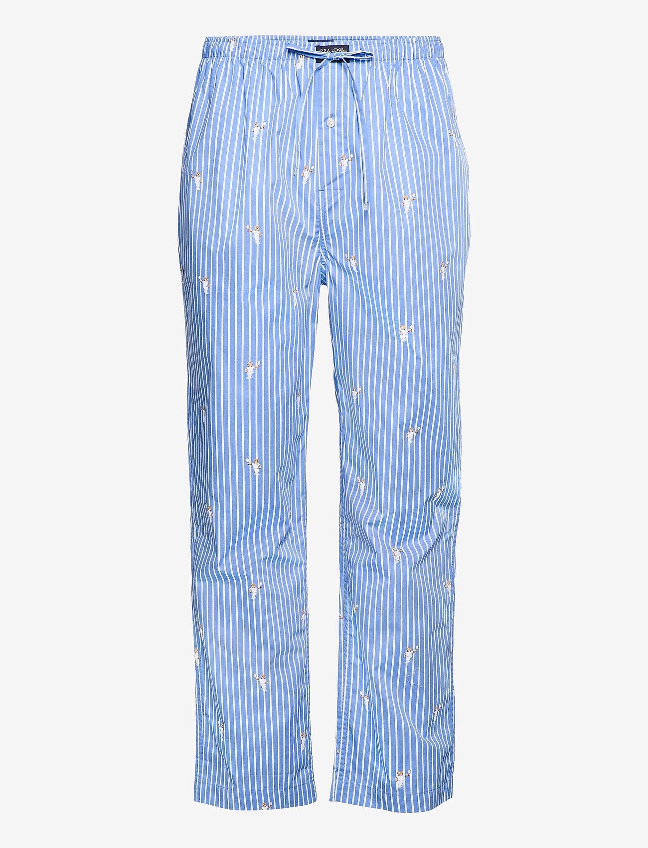 Polo Ralph Lauren Underwear - Plaid Pajama Pant - pyjama's - tennis bear strip - 0