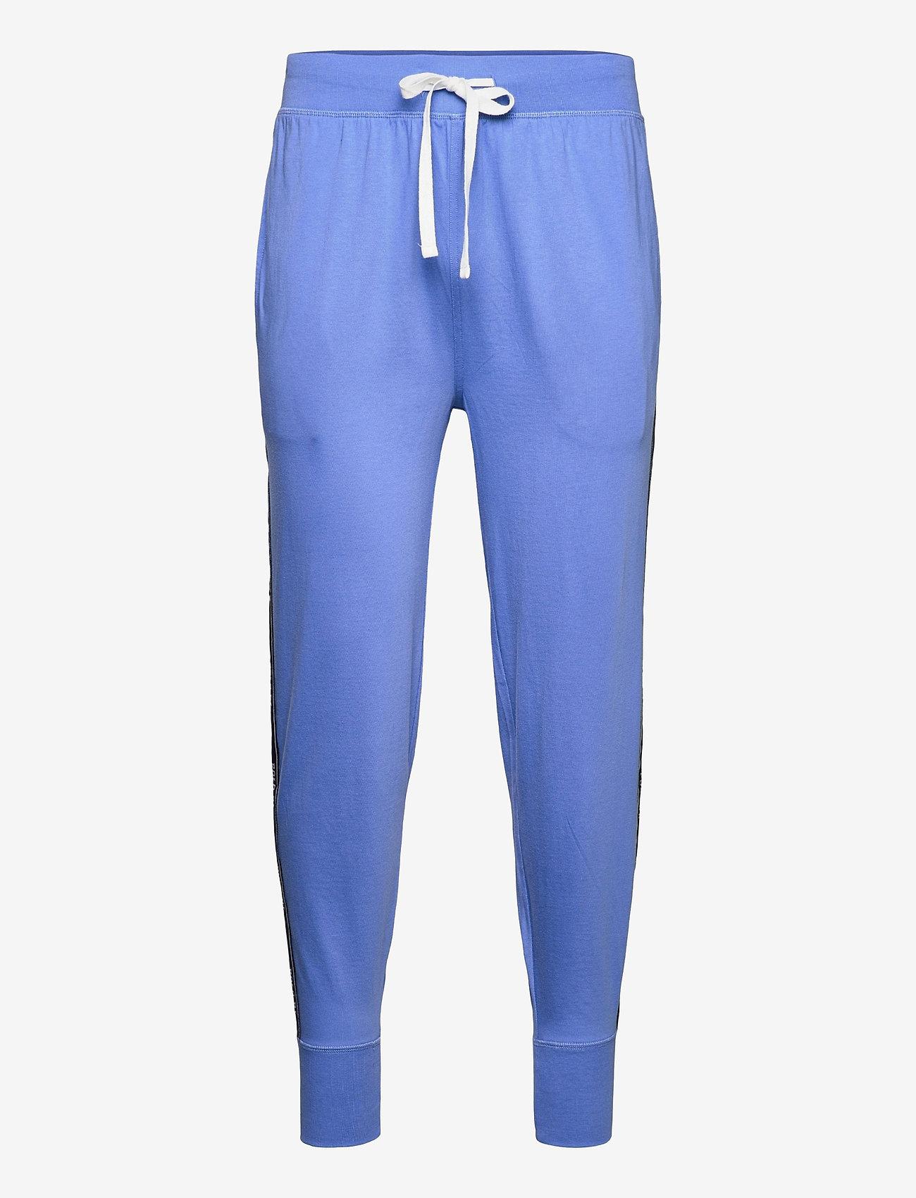 Polo Ralph Lauren Underwear - Logo-Tape Cotton Jersey Jogger - bottoms - bermuda blue - 0