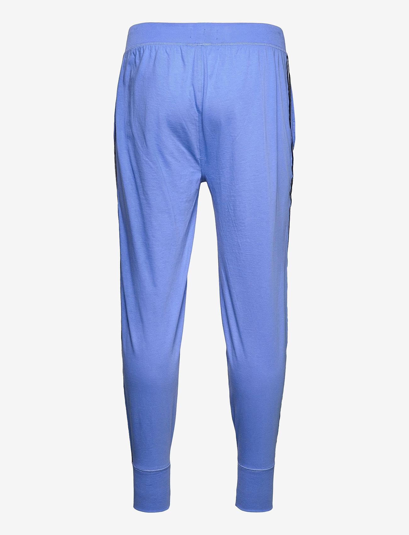 Polo Ralph Lauren Underwear - Logo-Tape Cotton Jersey Jogger - bottoms - bermuda blue - 1