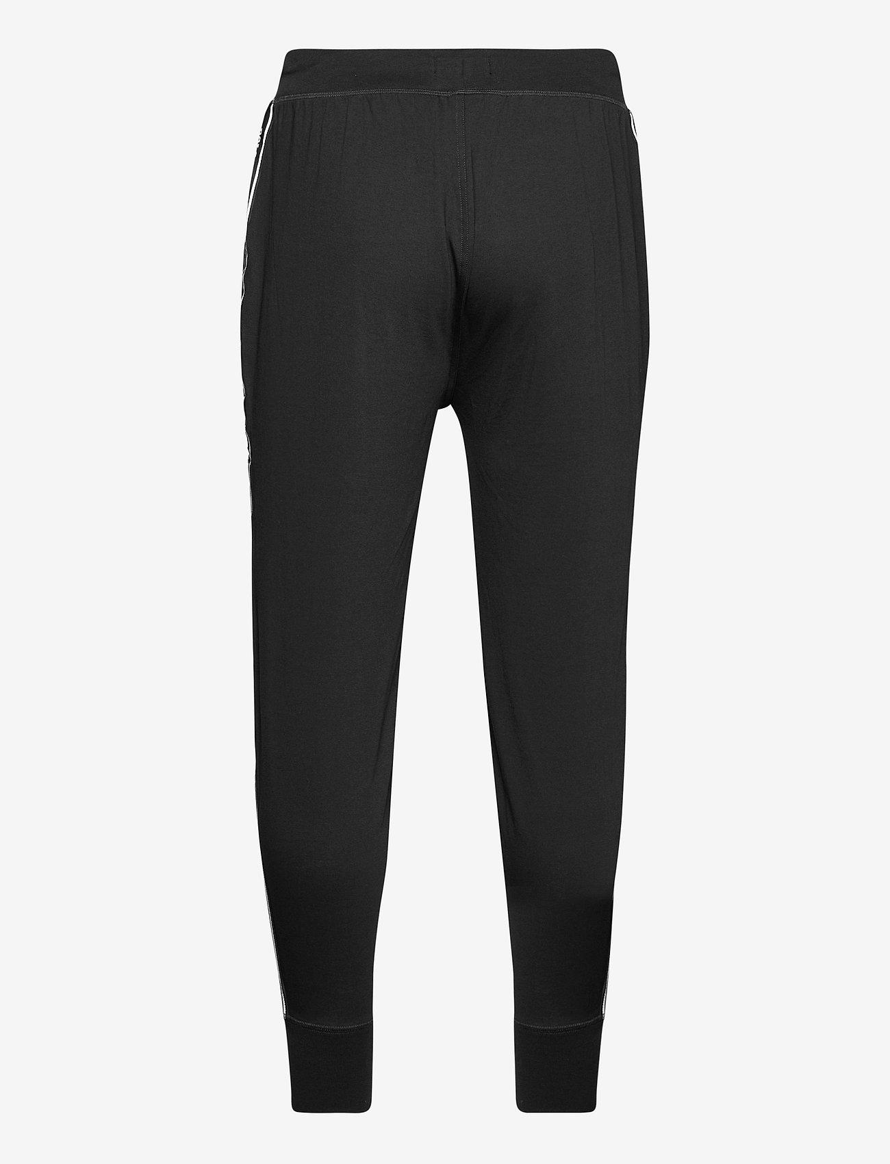 Polo Ralph Lauren Underwear - Logo-Tape Cotton Jersey Jogger - bottoms - polo black - 1