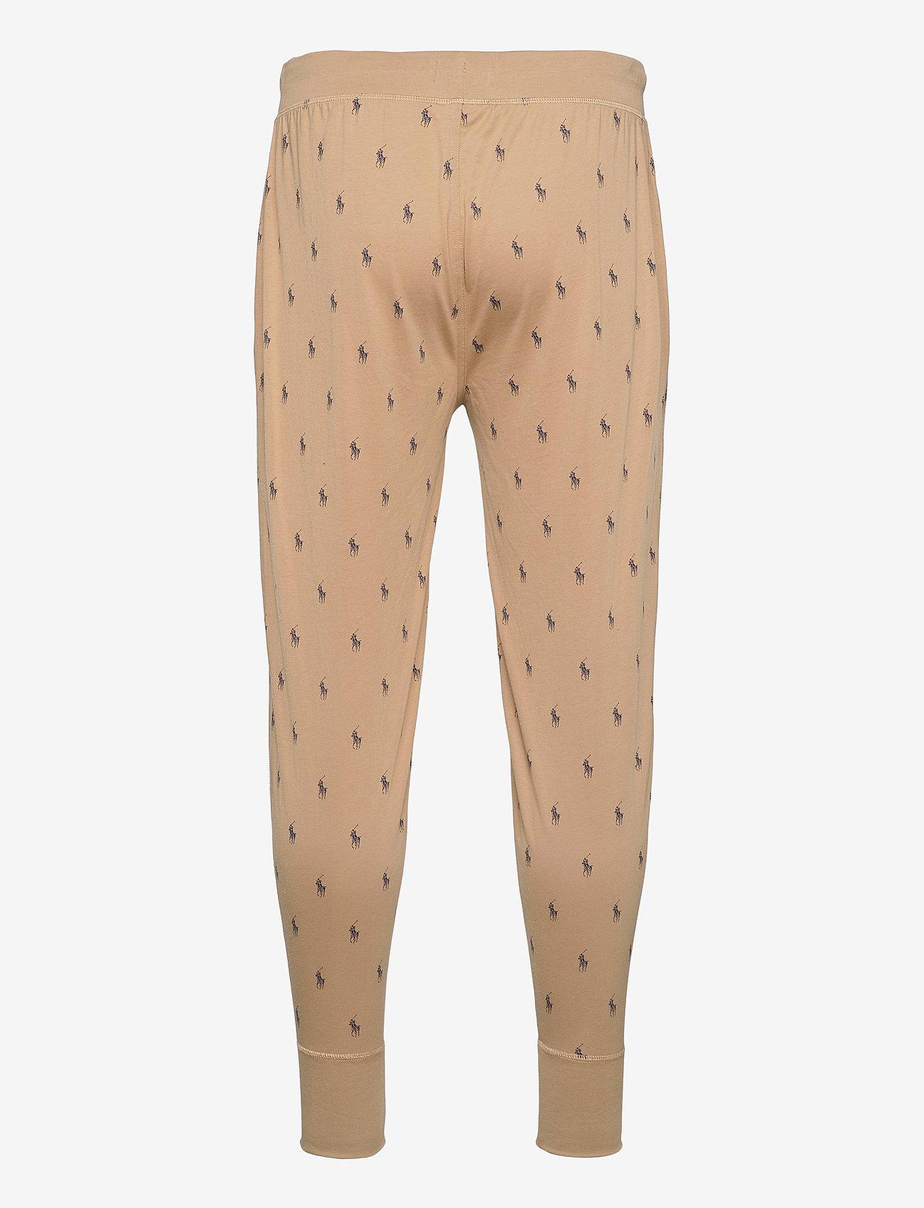 Polo Ralph Lauren Underwear - Signature Pony Jogger - bottoms - vintage khaki aop - 1