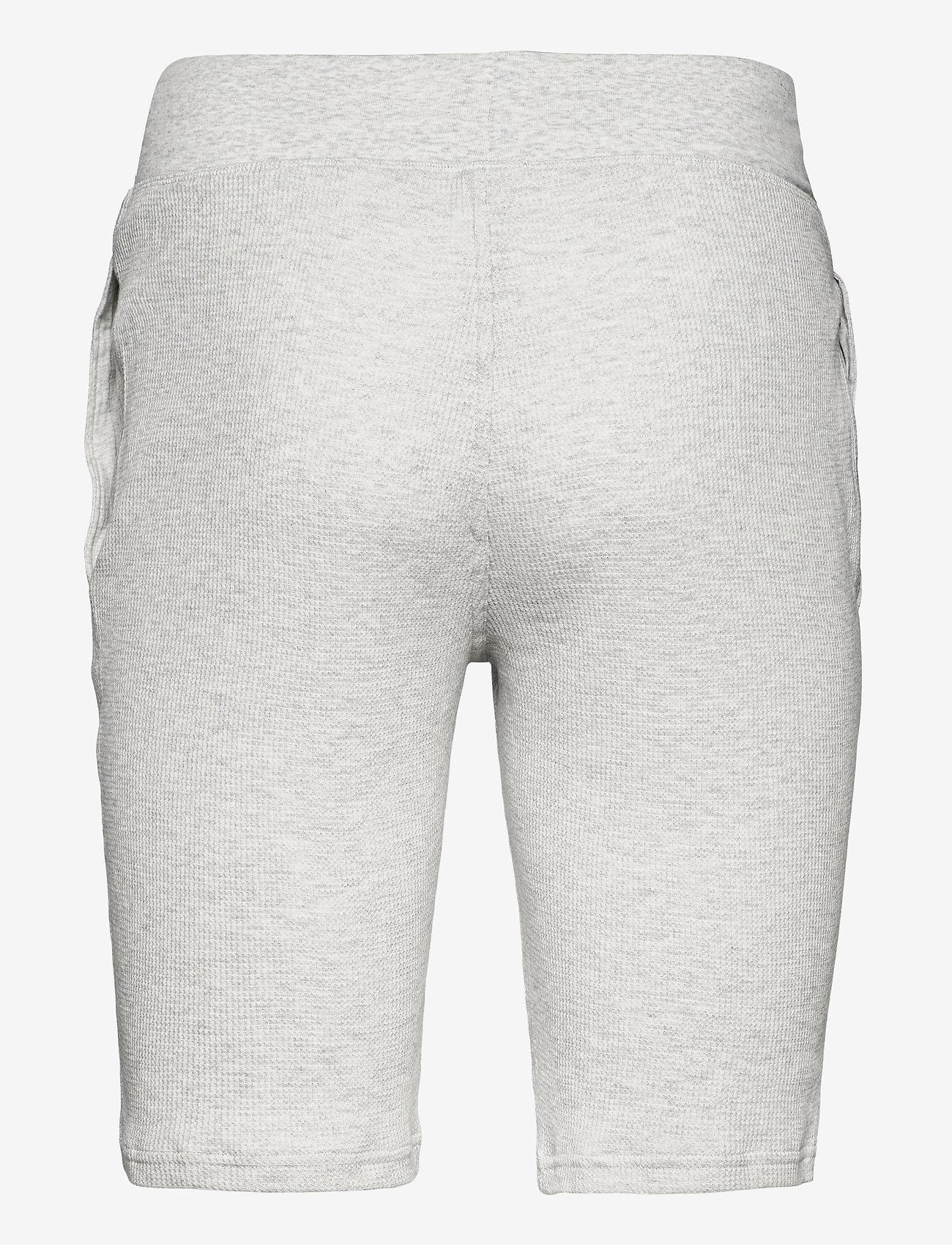 Polo Ralph Lauren Underwear - Slim Waffle-Knit Sleep Short - bottoms - english heather - 1