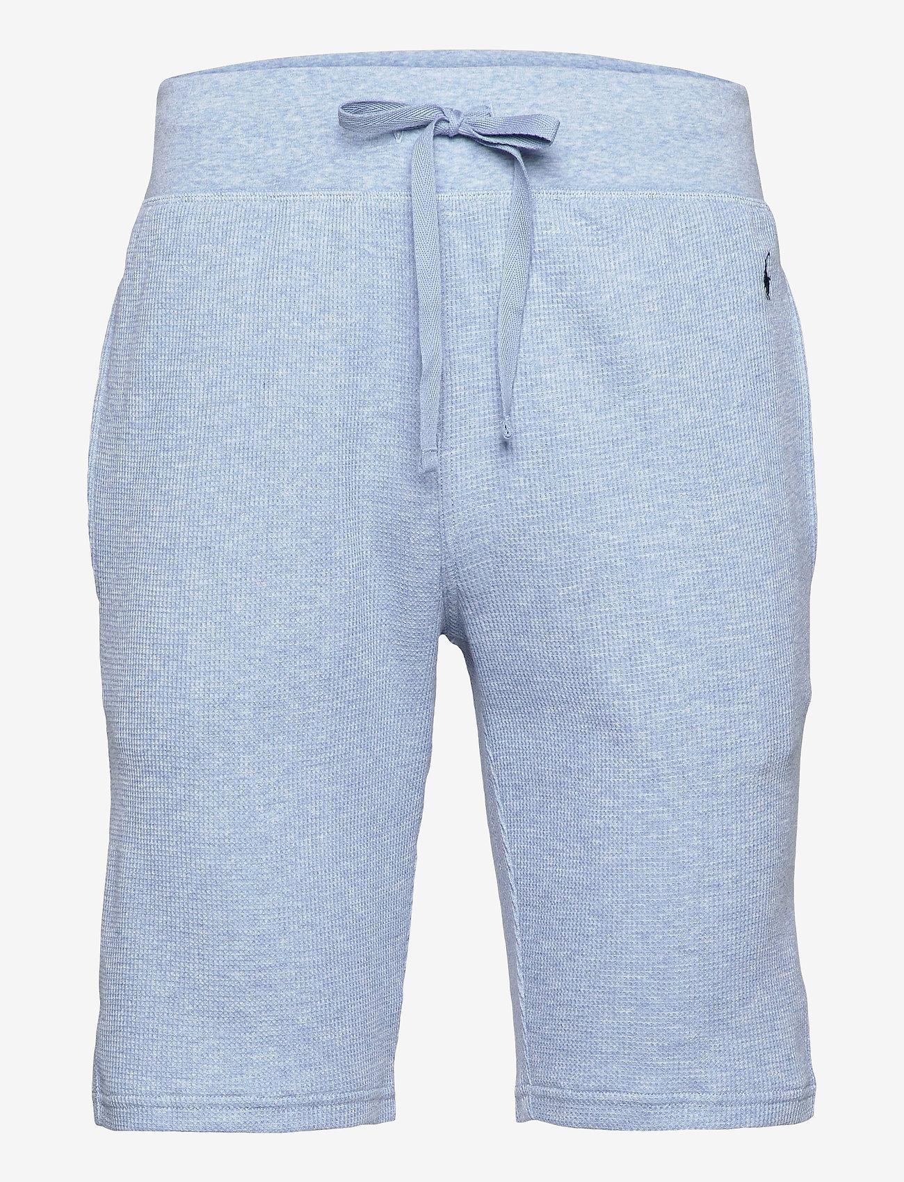 Polo Ralph Lauren Underwear - Slim Waffle-Knit Sleep Short - bottoms - new powder blue h - 0