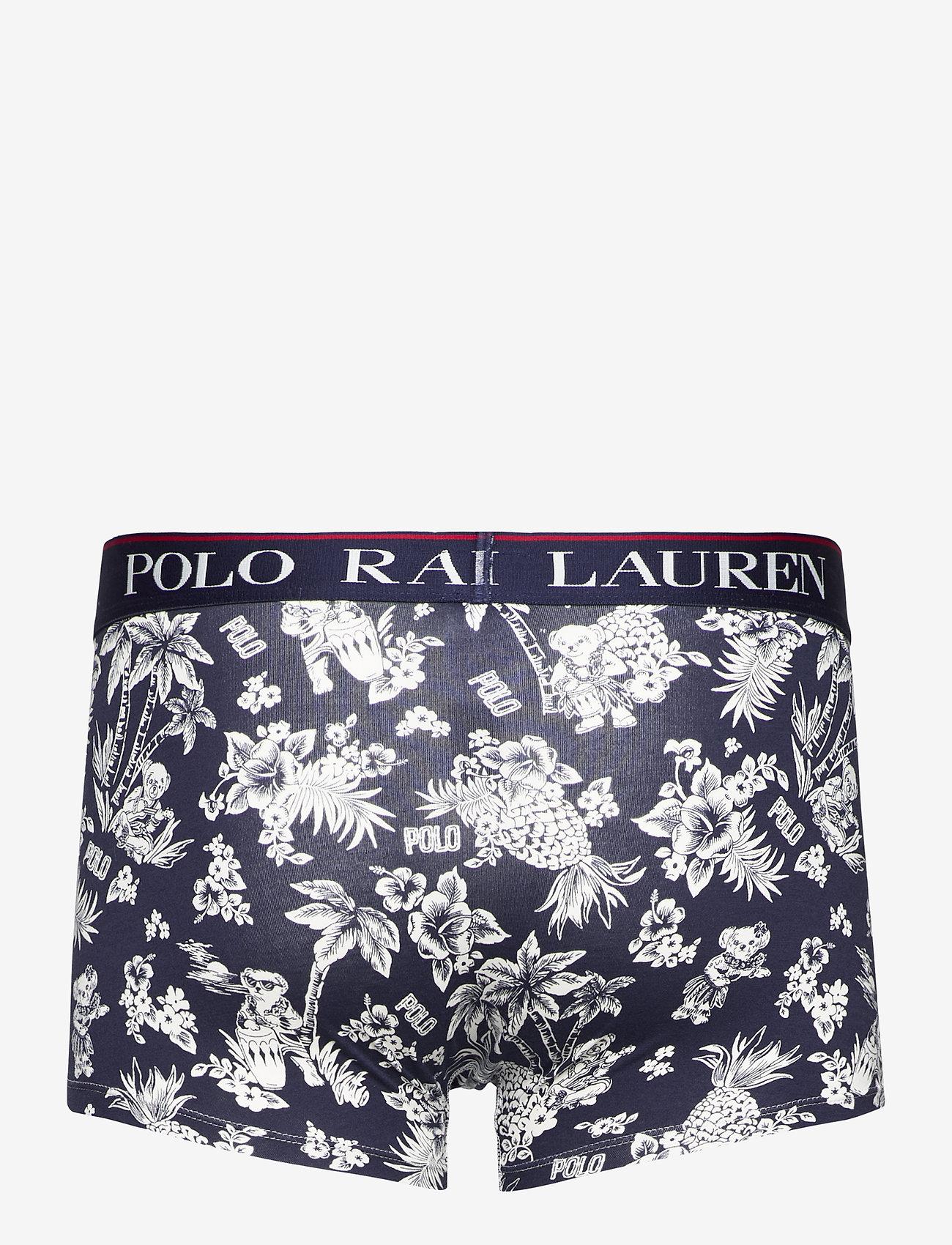 Polo Ralph Lauren Underwear - Polo Bear Tropical Stretch Cotton Trunk - boxers - cruise navy bear - 1