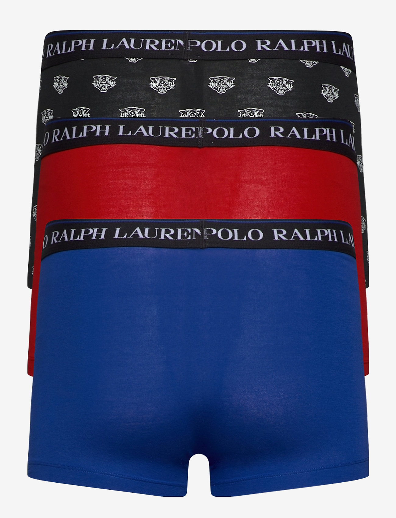 Polo Ralph Lauren Underwear - Classic Stretch-Cotton Trunk 3-Pack - boxers - 3pk red/sph str/b - 1
