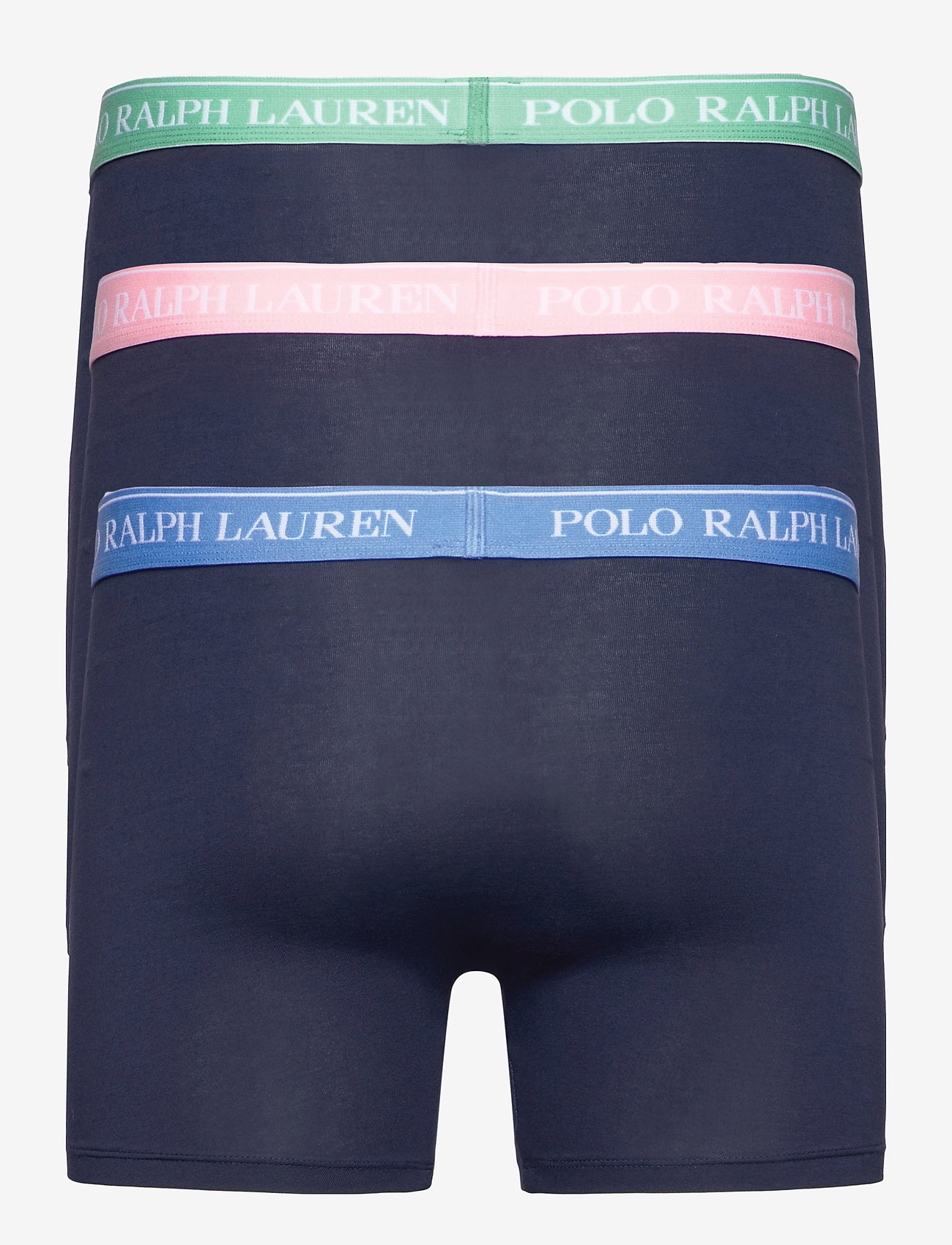 Polo Ralph Lauren Underwear - Stretch Cotton Boxer Brief 3-Pack - boxers - 3pk nvy blu/nvy p - 1