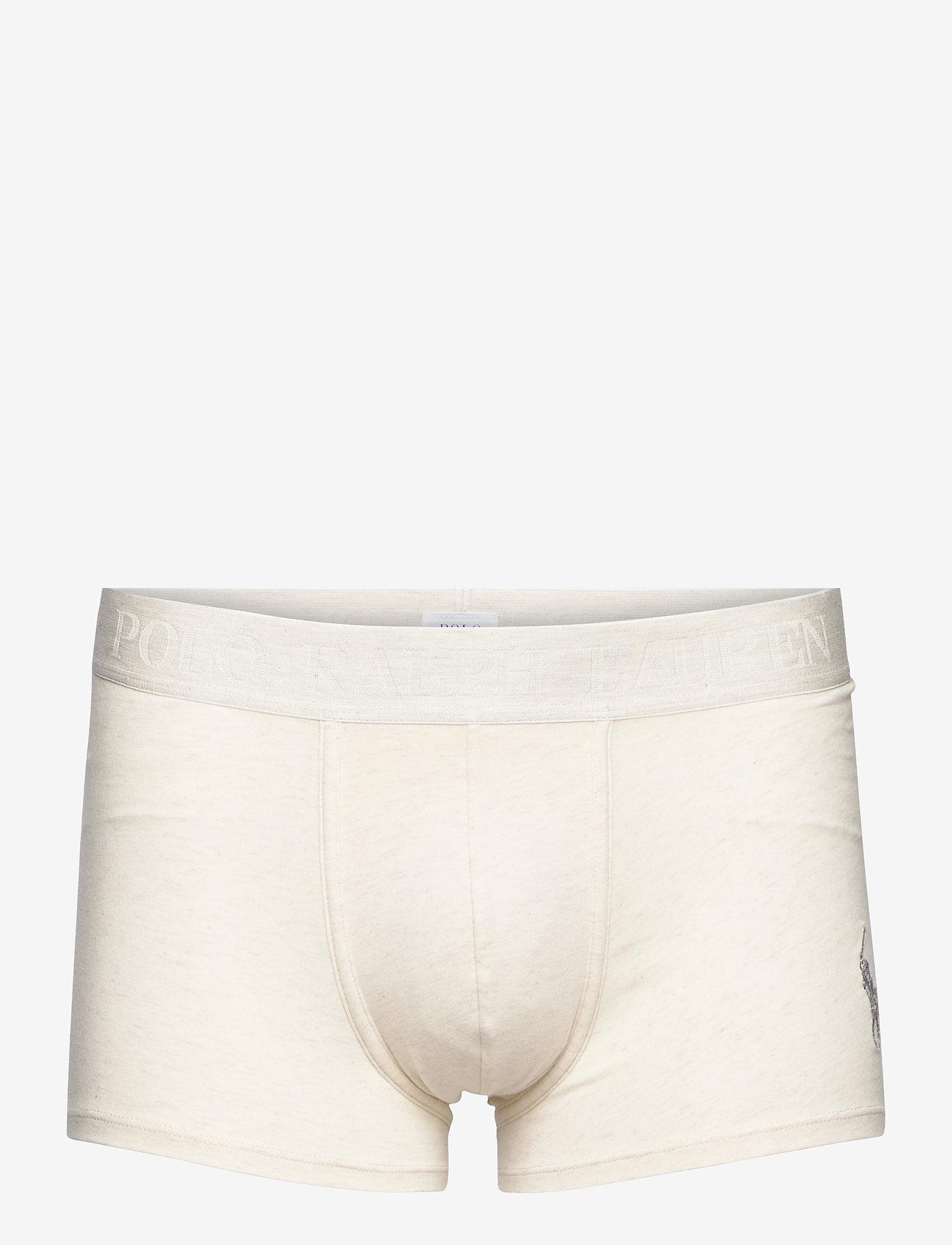 Polo Ralph Lauren Underwear - Stretch Cotton Trunk - boxers - chalk heather - 0