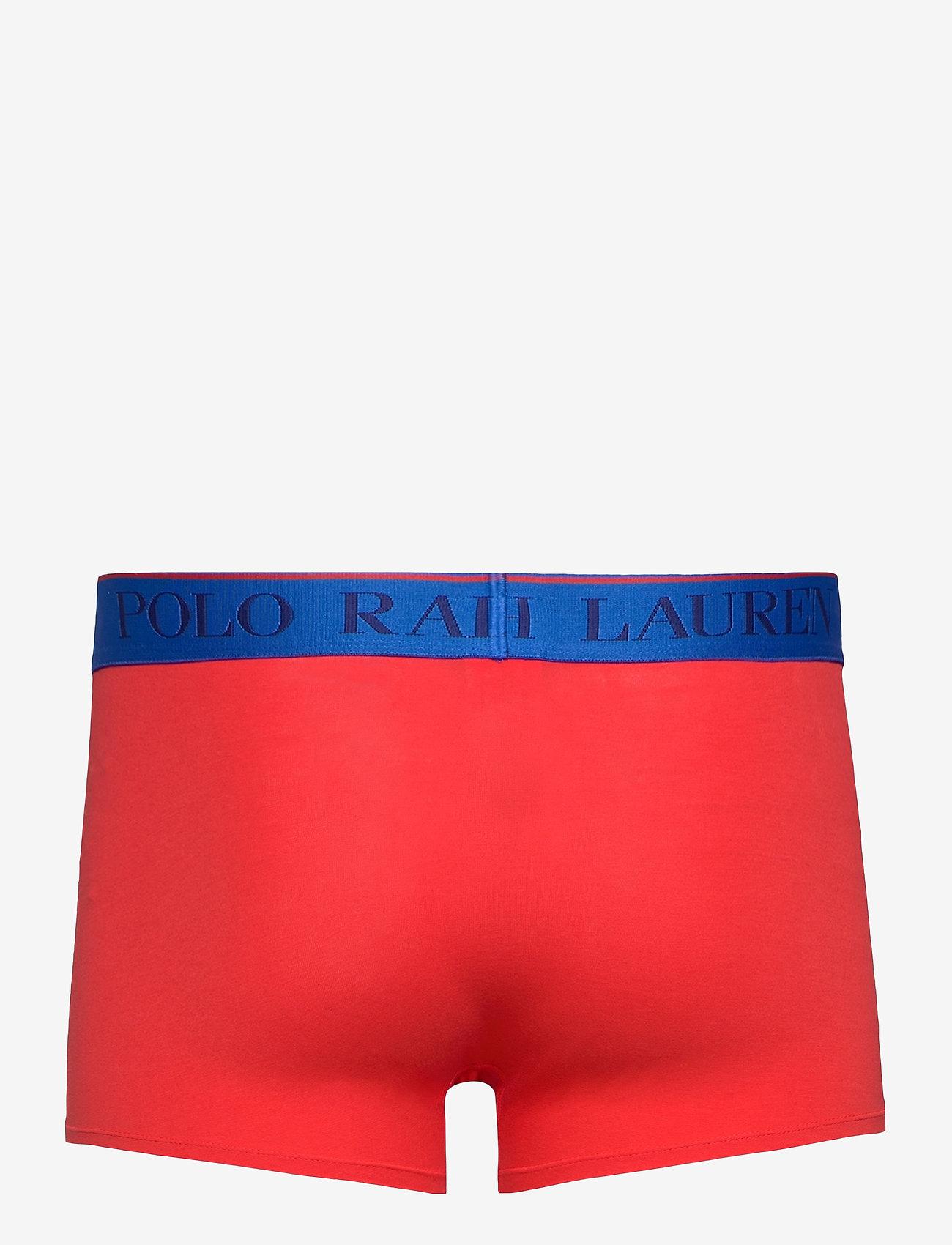 Polo Ralph Lauren Underwear - Stretch Cotton Trunk - boxers - tomato - 1