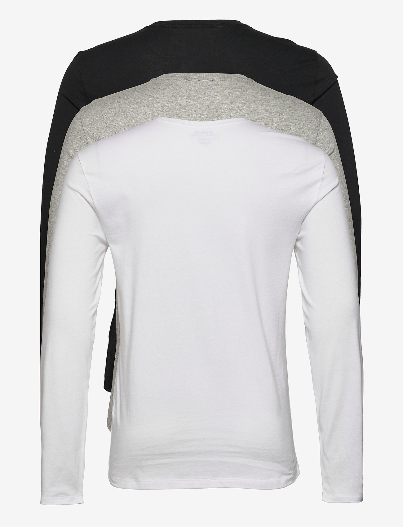 Polo Ralph Lauren Underwear - 0 - basic t-shirts - 3pk white/black/a - 1