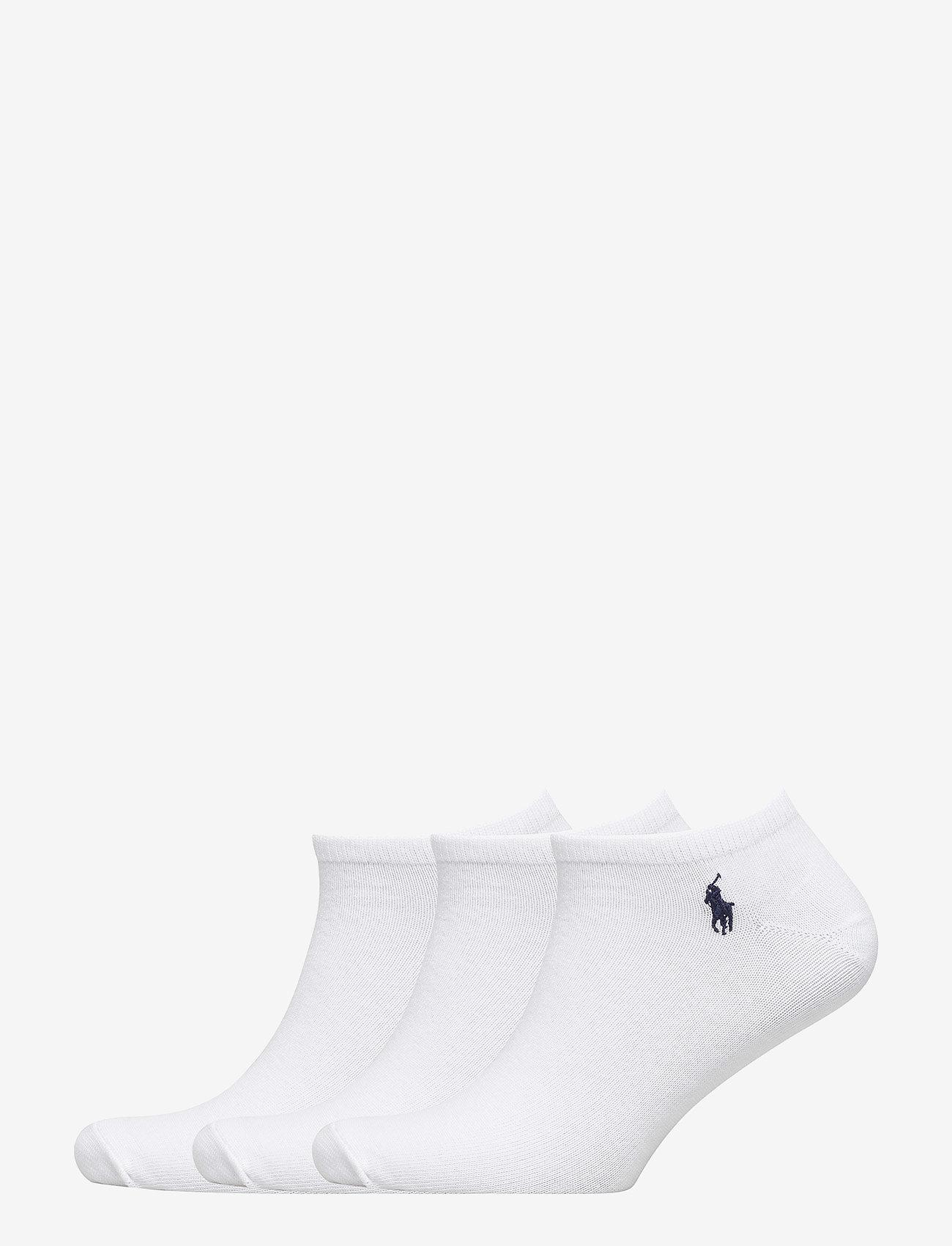 Polo Ralph Lauren Underwear - Low-Cut Sock 3-Pack - ankle socks - white - 0