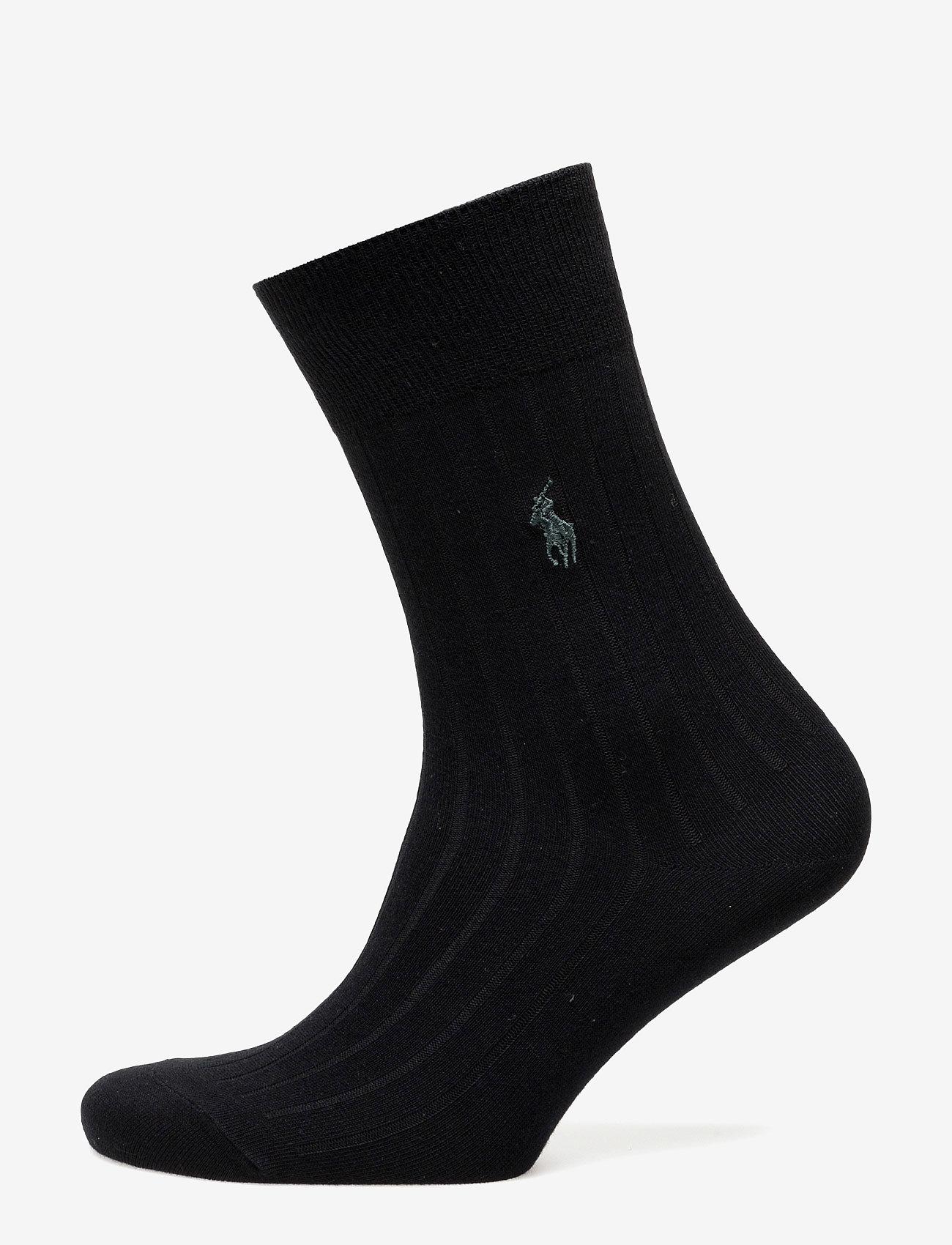 Polo Ralph Lauren Underwear - Rib-Knit Trouser Socks - regular socks - black - 0