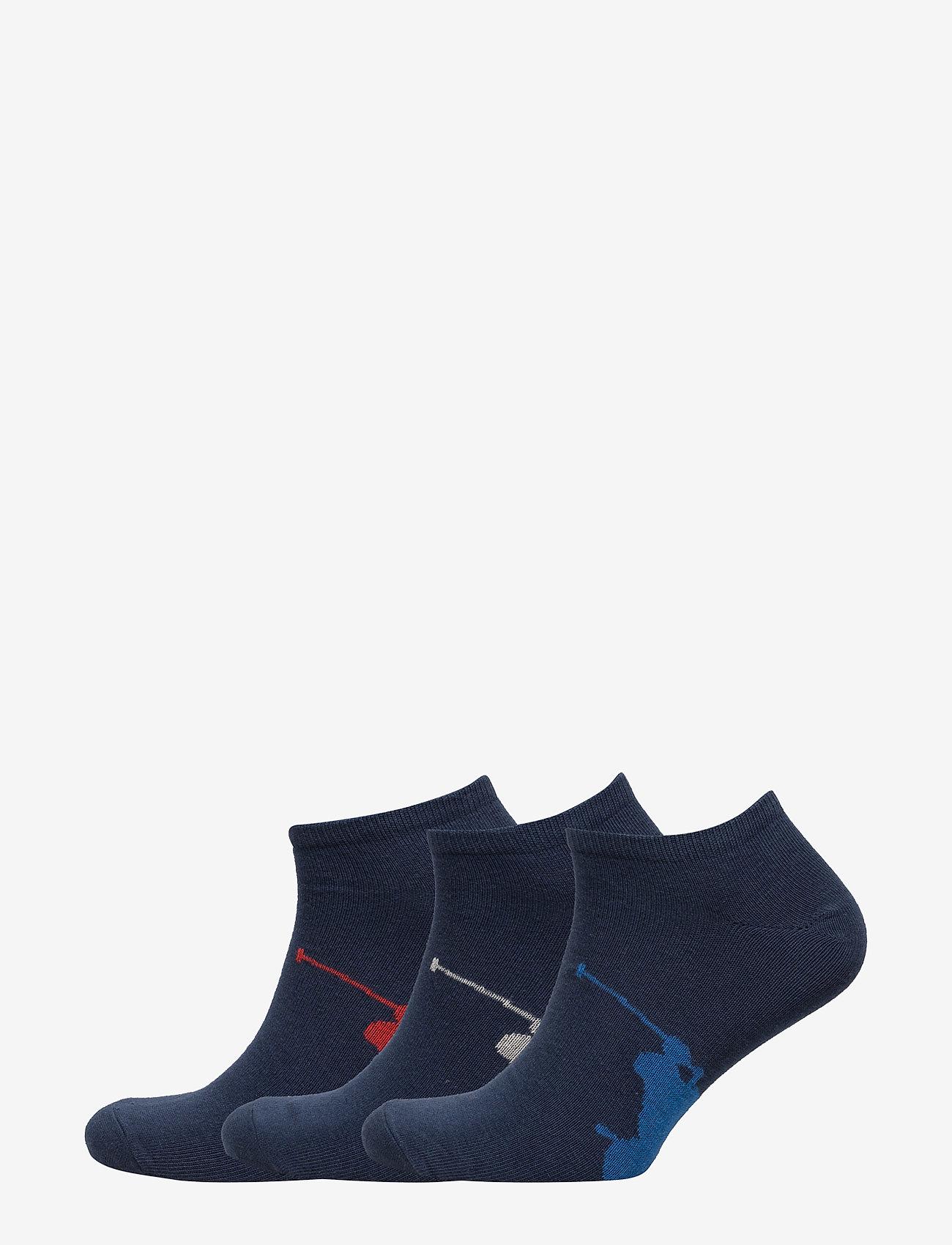 Polo Ralph Lauren Underwear - BPP SOLE-PED-3 PACK - ankle socks - navy multi - 0