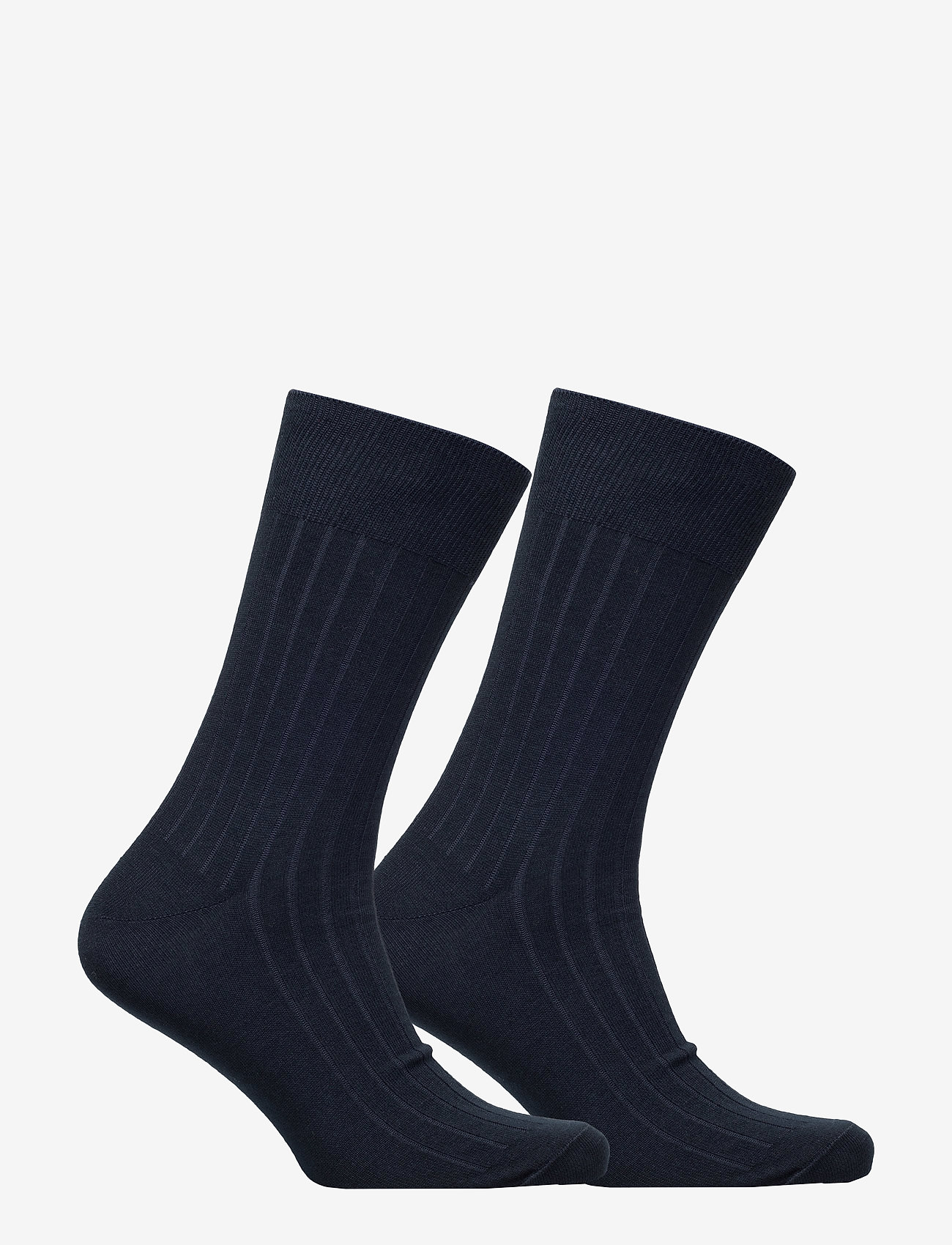 Polo Ralph Lauren Underwear - SCK SIZED RIBBED EGYPTIAN COT - socks - navy - 1