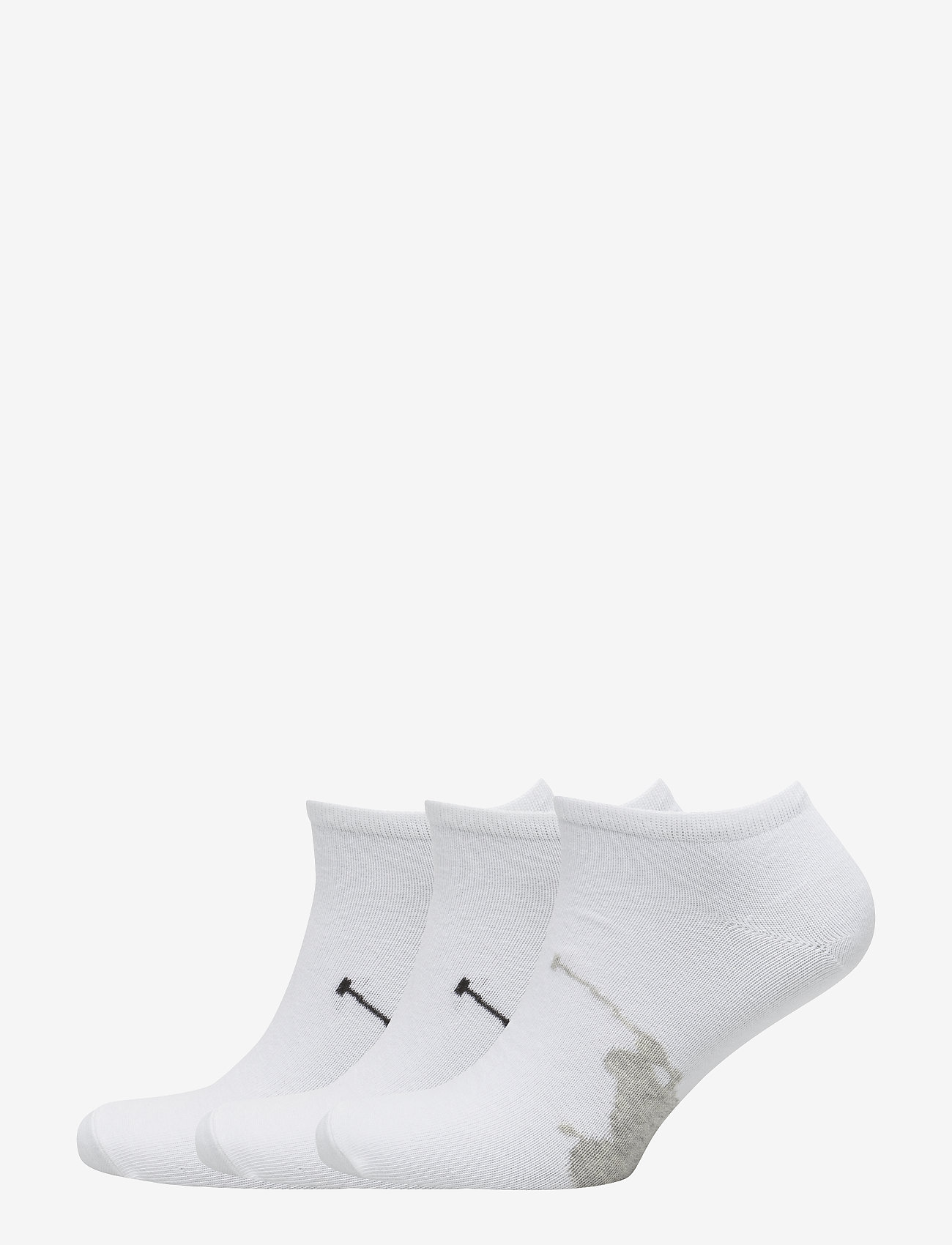 Polo Ralph Lauren Underwear - Big Pony Sock 3-Pack - ankelsokker - white - 0