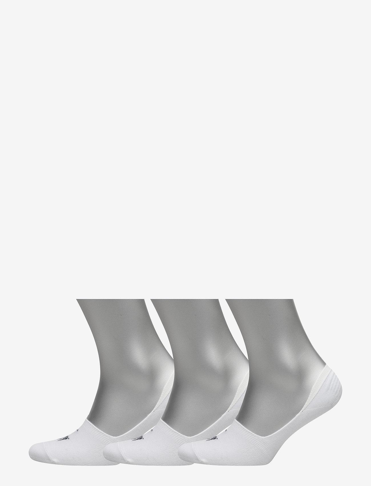 Polo Ralph Lauren Underwear - Big Pony No-Show-Liner 3-Pack - socks - white - 0
