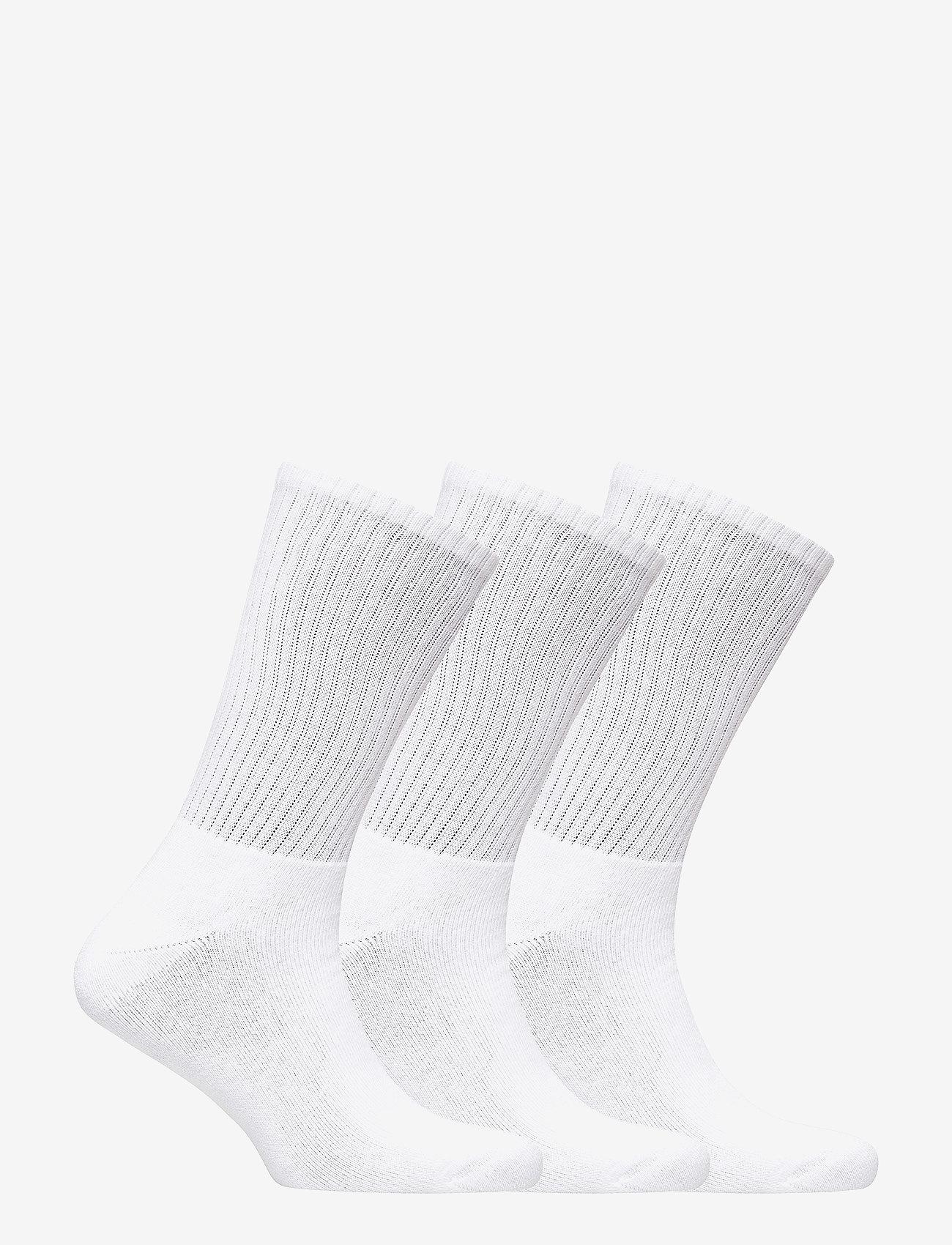 Polo Ralph Lauren Underwear Crew Sock 3-pack - Strumpor White