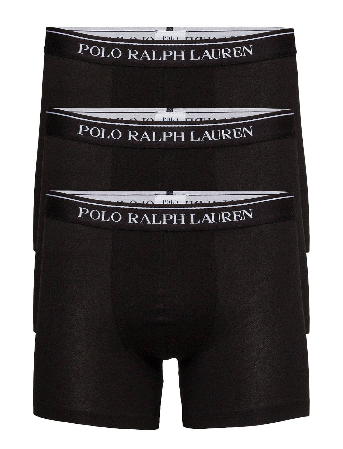 Polo Ralph Lauren Underwear Stretch-Cotton-Trunk 3-Pack - 3PK POLO BLK