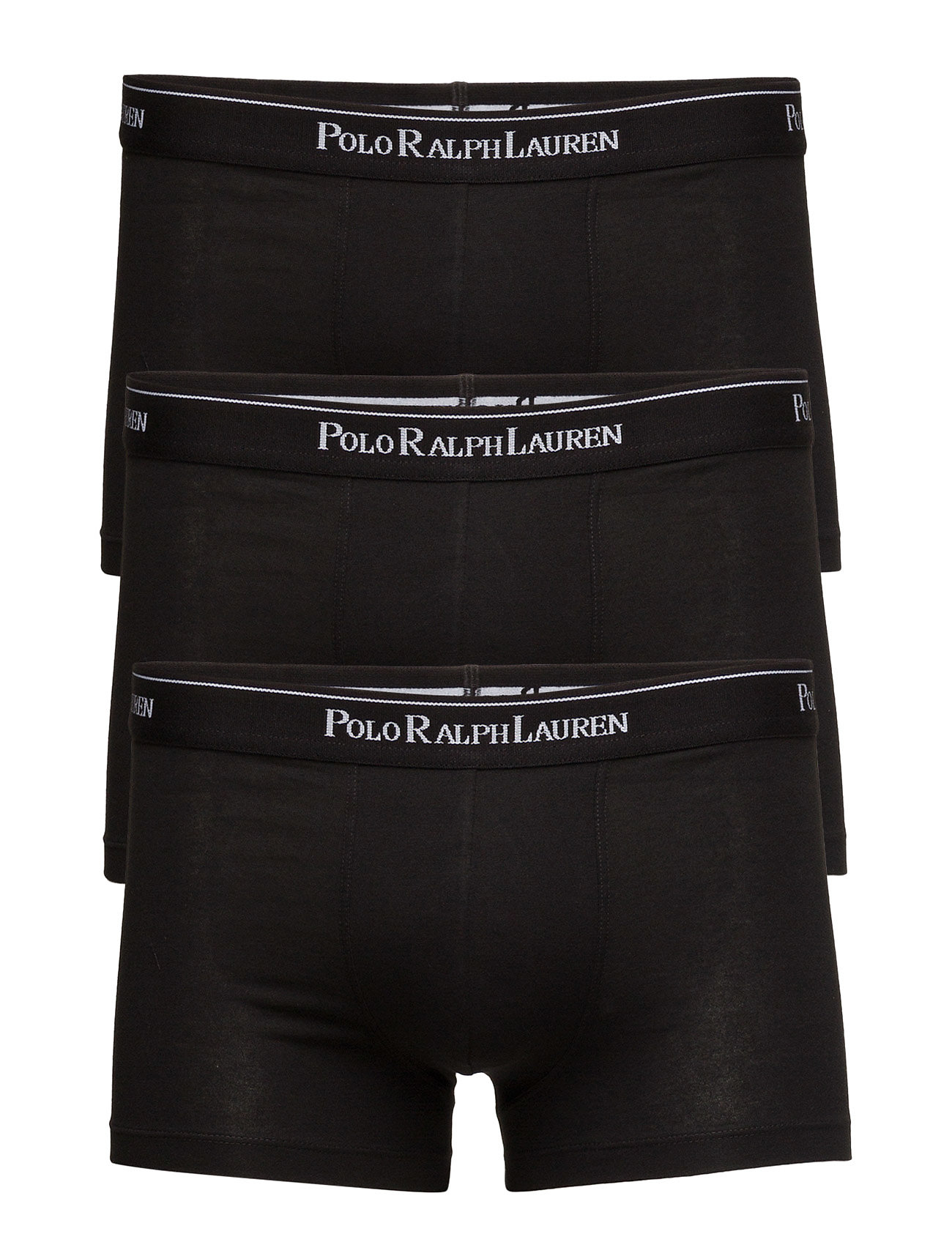 Polo Ralph Lauren Underwear 3 PACKS POUCH TRUNKS - BLACK