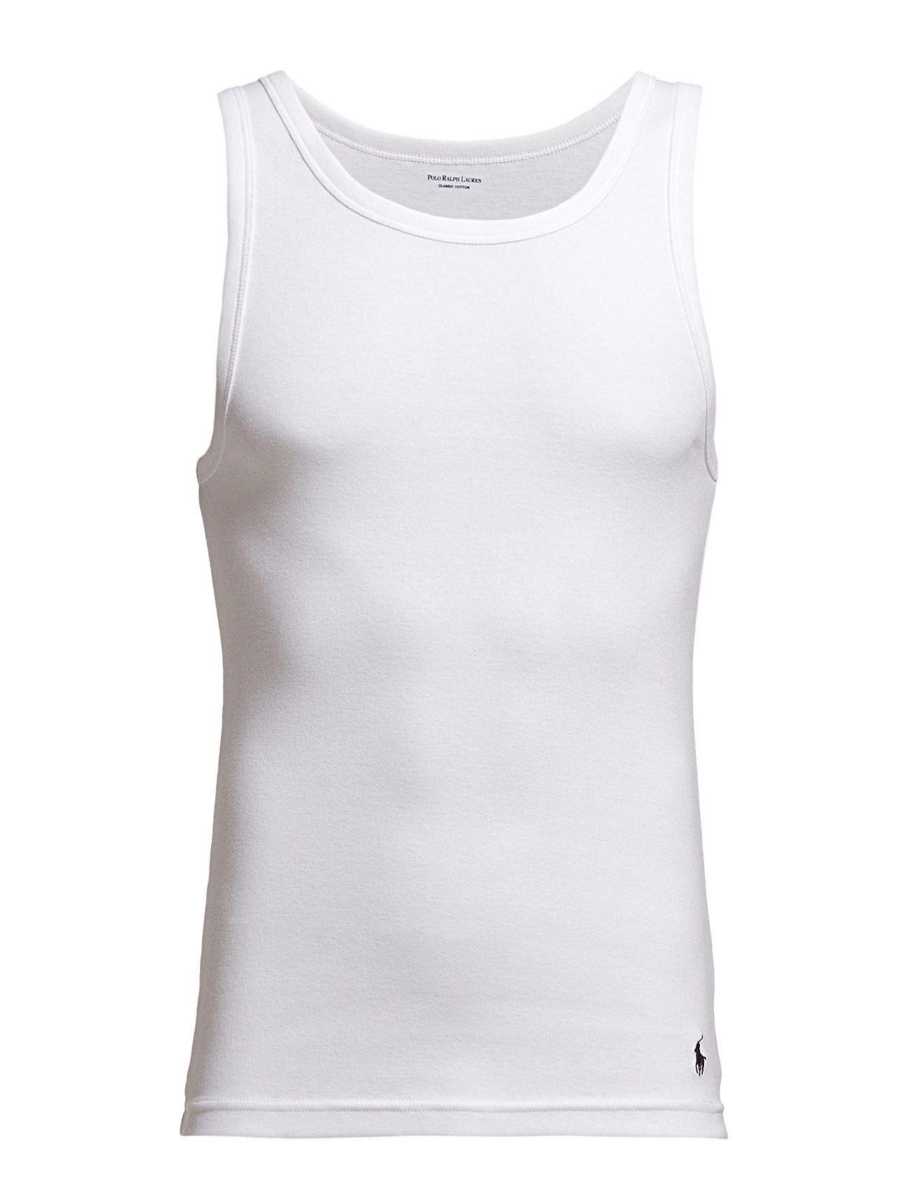 Polo Ralph Lauren Underwear 2 PACKS CLASSIC TANKS - WHITE