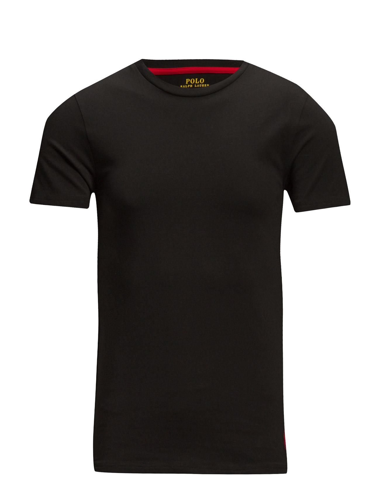 94ce64132f015 Cotton Crewneck T-shirt (Polo Black) (£37) - Polo Ralph Lauren ...