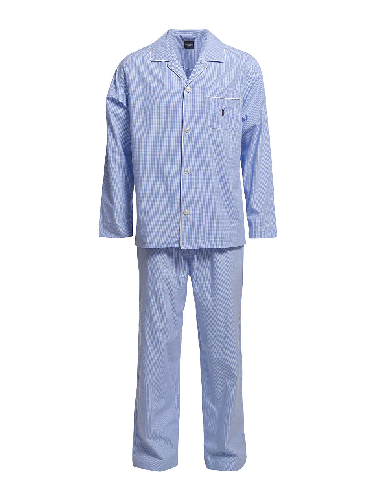 Polo Ralph Lauren Underwear PYJAMA SET LONG - LT BLUE MINI GI