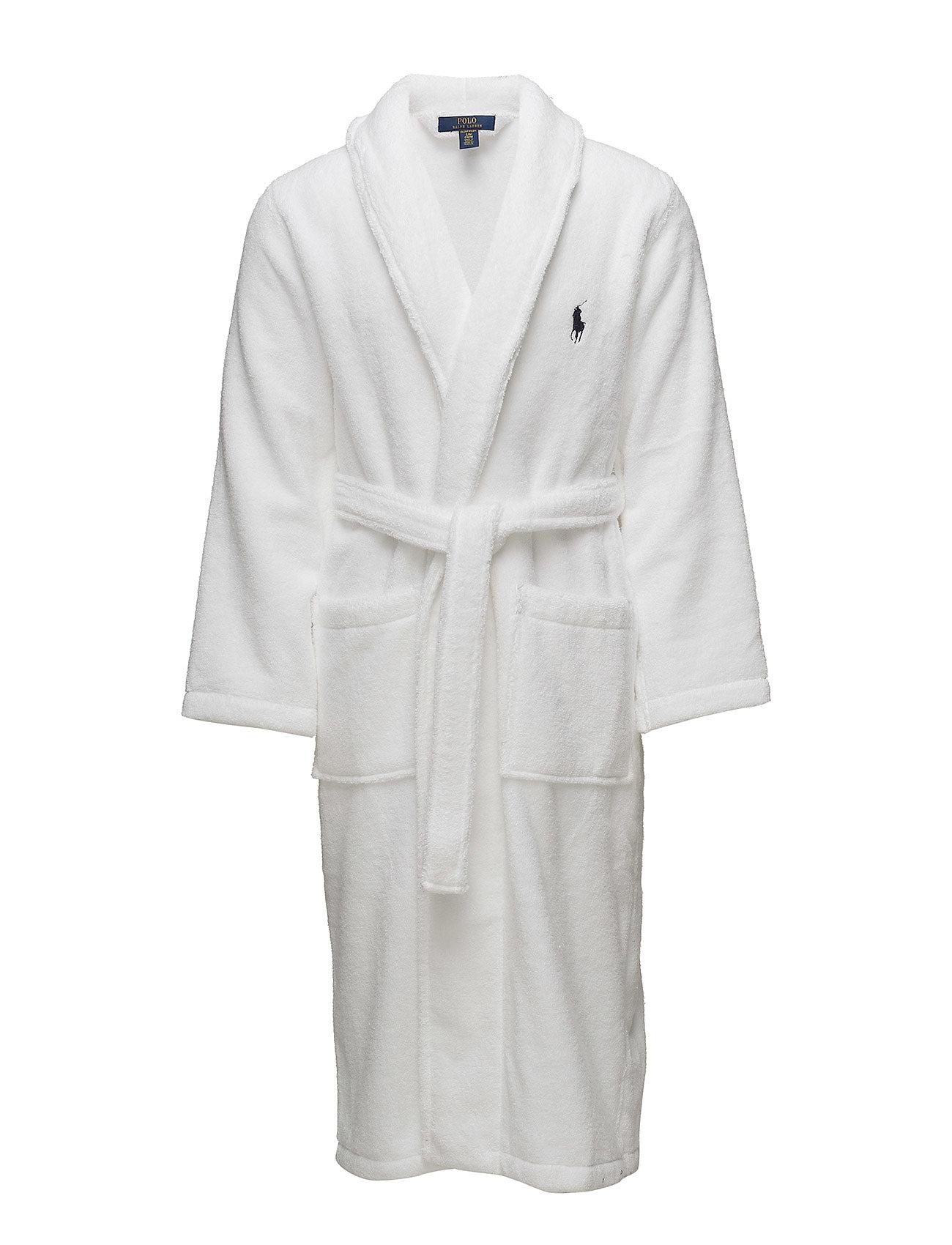 Cotton Terry Robe (White) (£115) - Polo Ralph Lauren Underwear ... 6aaff902a