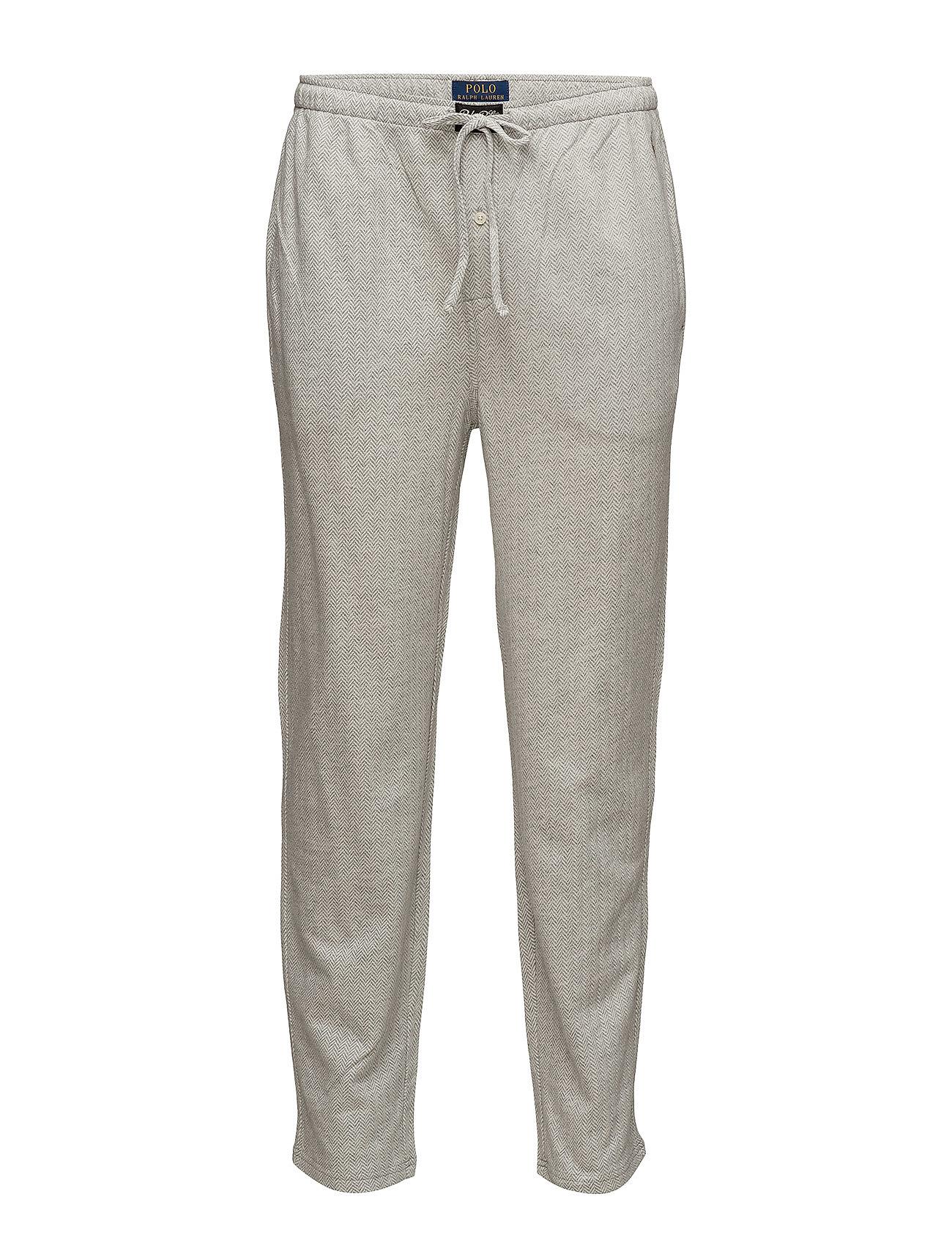 7ed00b9efba Knit Cotton Oxford Sleep Pant (Andover Heather H) (£33) - Polo Ralph ...