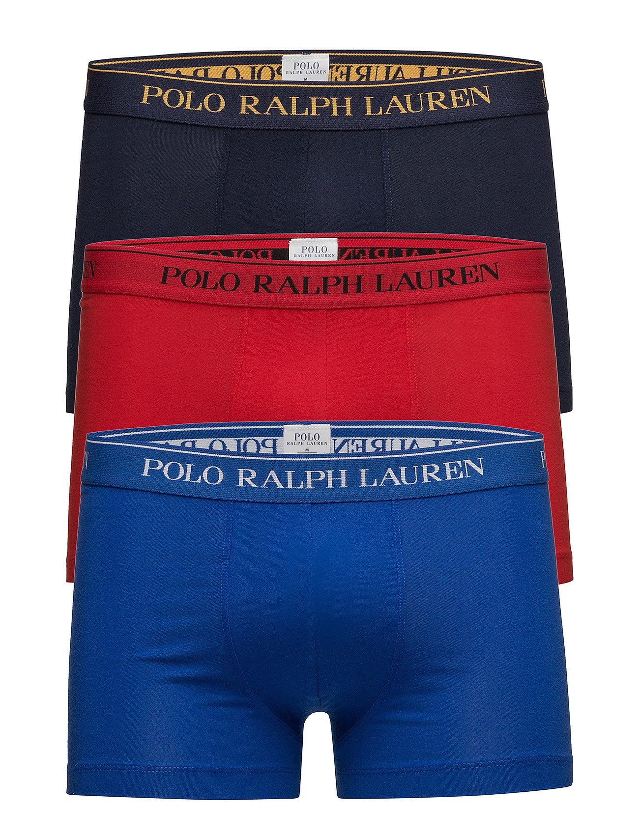 Polo Ralph Lauren Underwear Stretch Cotton Trunk 3-Pack