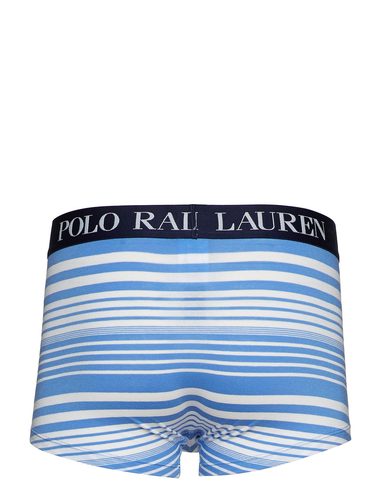 Ralph elastane StrpPolo Cotton trnharbour Underwear 1pk Blue Lauren 8N0XnOwPk