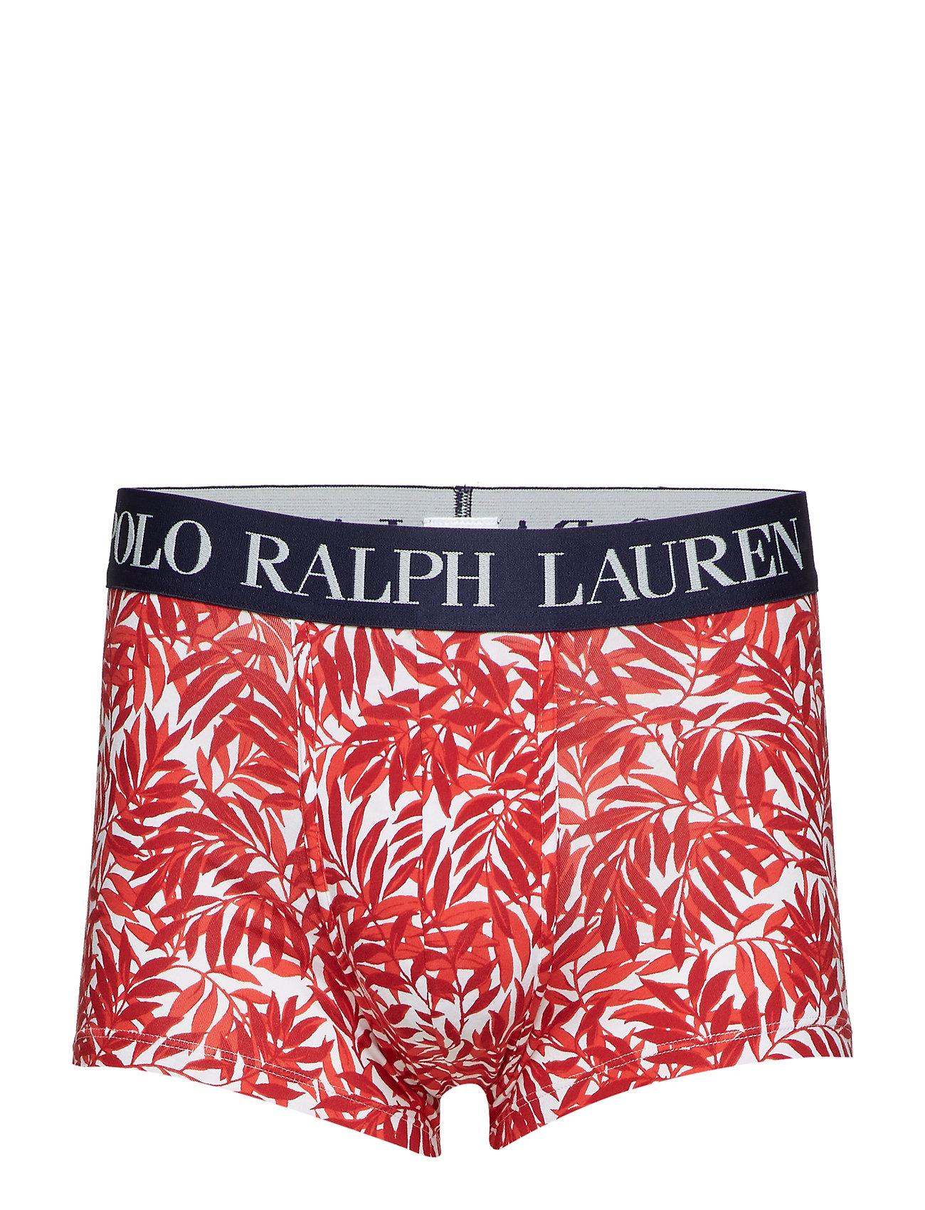 elastane 1pk Red Underwear Lauren Ralph 2000 PalmPolo Cotton trnrl kPiuXZ