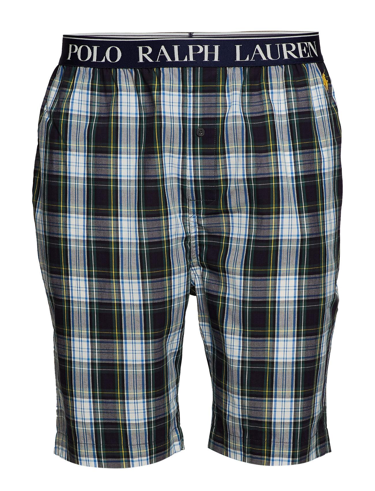 Ralph Cotton Sleep Underwear Shortwales PlaidPolo Lauren vywOm8n0PN