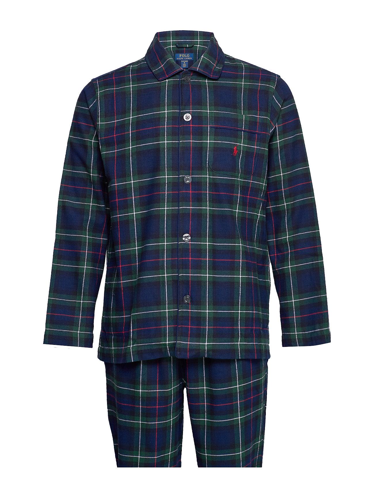 Polo Ralph Lauren Underwear L/S PJ SET-SLEEP SET - KESINGTON PLAID