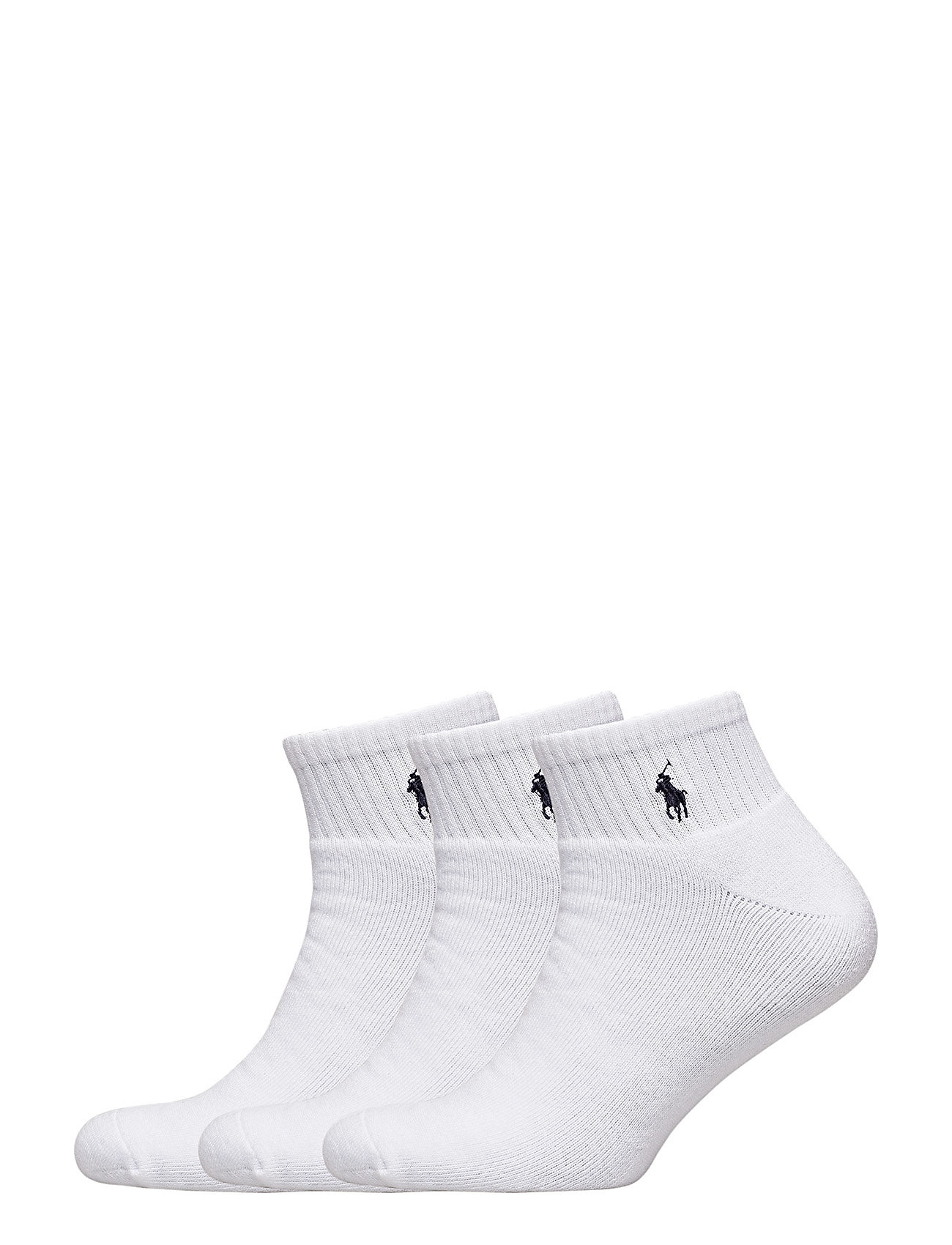Polo Ralph Lauren Underwear QUARTER-SOCKS-3 PACK - WHITE