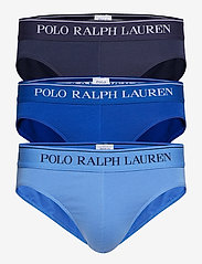 Polo Ralph Lauren Underwear - 3 PACK LOW RISE BRIEFS - briefs - cr nvy/saphir sta - 0