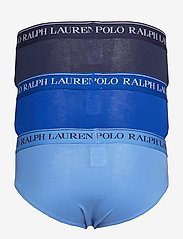 Polo Ralph Lauren Underwear - 3 PACK LOW RISE BRIEFS - briefs - cr nvy/saphir sta - 3