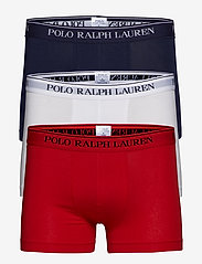 Polo Ralph Lauren Underwear - 3 PACKS POUCH TRUNKS - boxers - rl2000red/white/c - 0