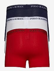 Polo Ralph Lauren Underwear - 3 PACKS POUCH TRUNKS - boxers - rl2000red/white/c - 1