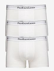 Polo Ralph Lauren Underwear - 3 PACKS POUCH TRUNKS - sous-vêtements - white - 0